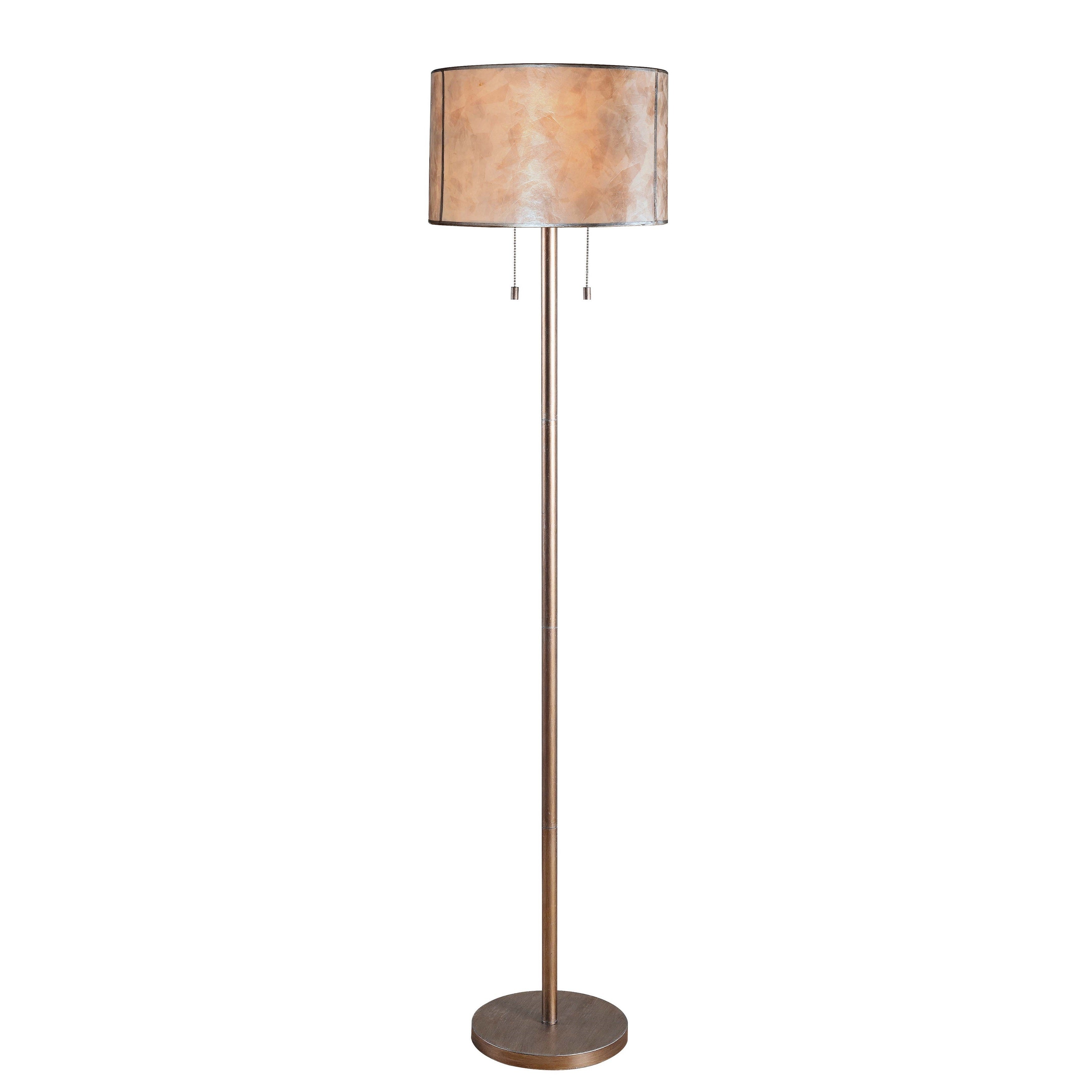 Mica floor lamp free shipping today overstock 21583569 aloadofball Gallery