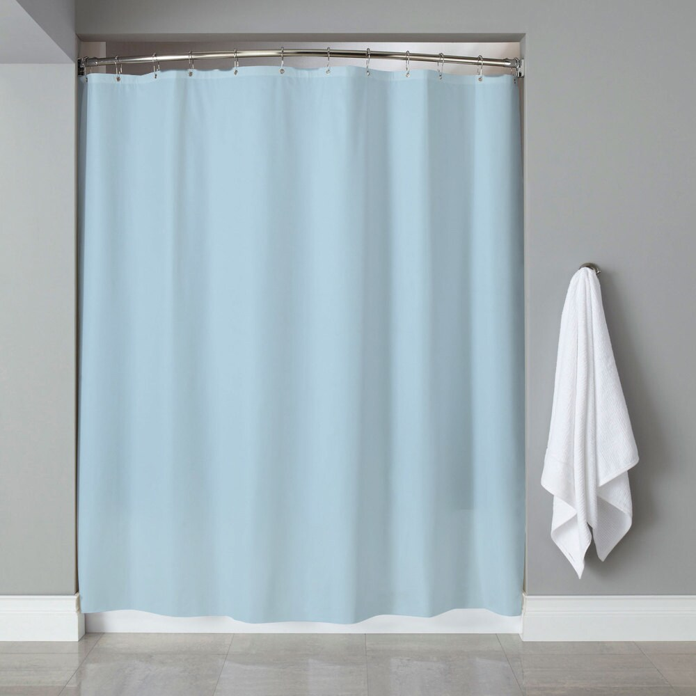 Shop 6-Gauge Deluxe Hotel Weight Vinyl Shower Curtain Liner (70\