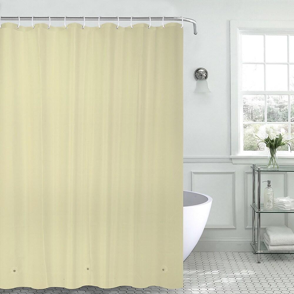 Shop PEVA 8 Gauge Shower Curtain Liner Assorted Colors