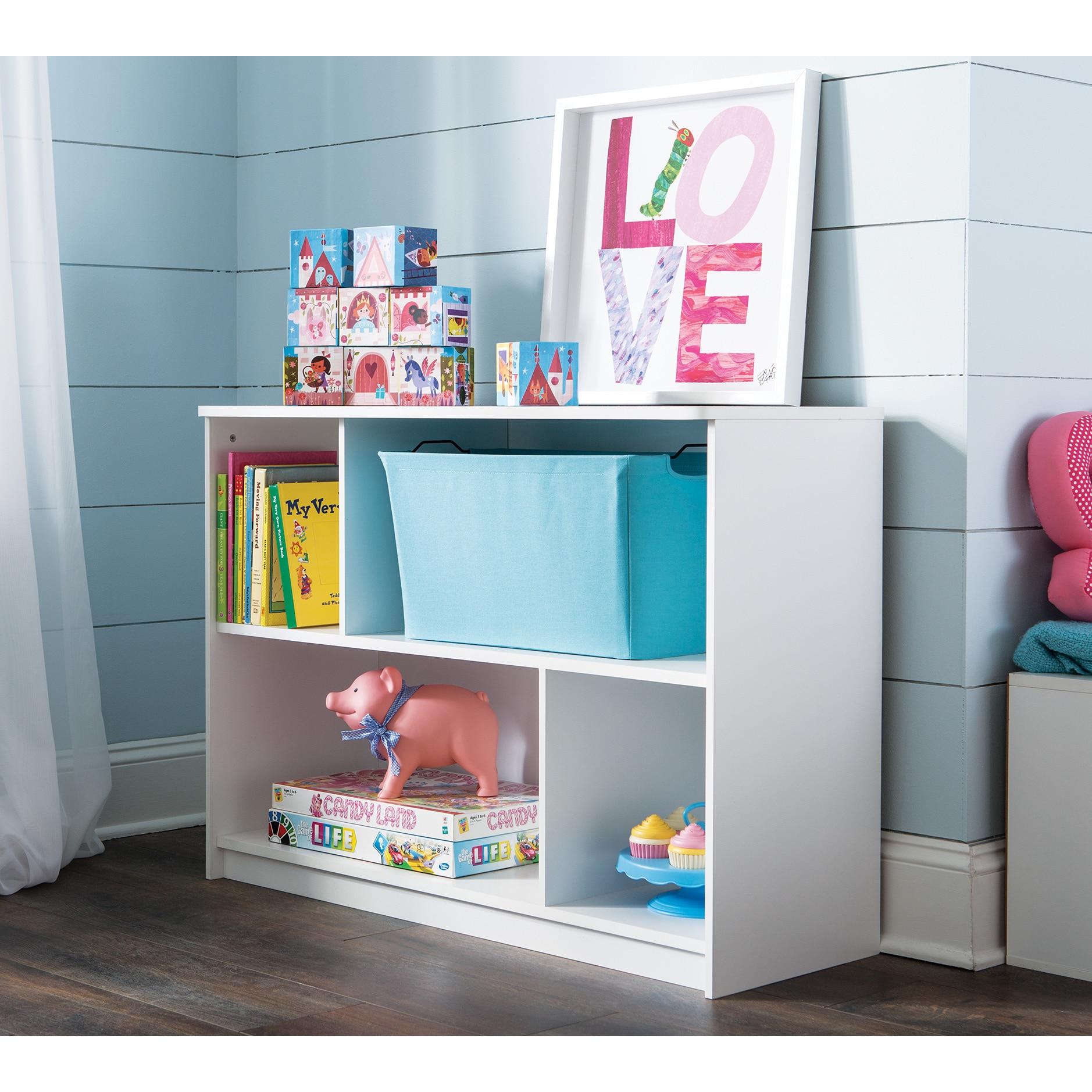 Shop ClosetMaid KidSpace White 2-Tier Offset Bookcase - Free ...