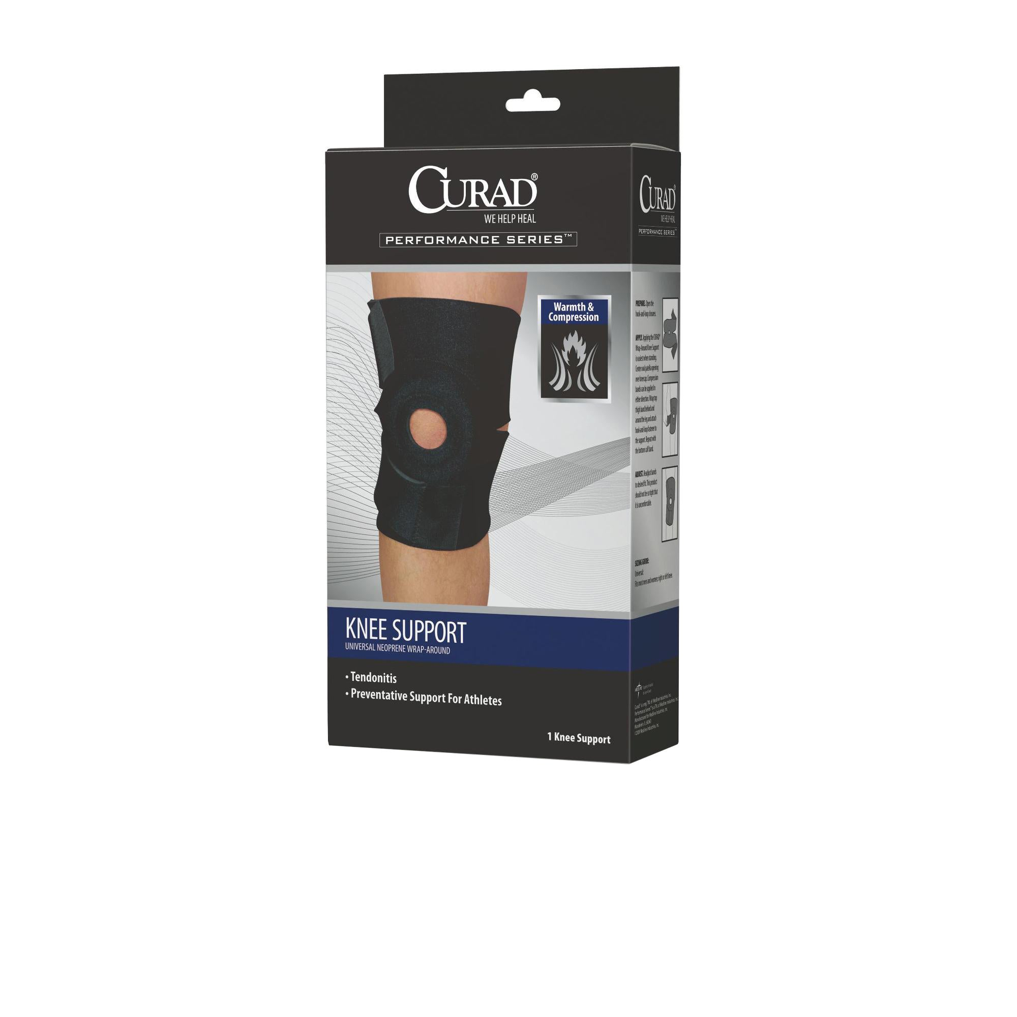 f8dc6b8c17 Shop Curad Universal Neoprene Wrap-Around Knee Support - Free Shipping On  Orders Over $45 - Overstock - 15097346