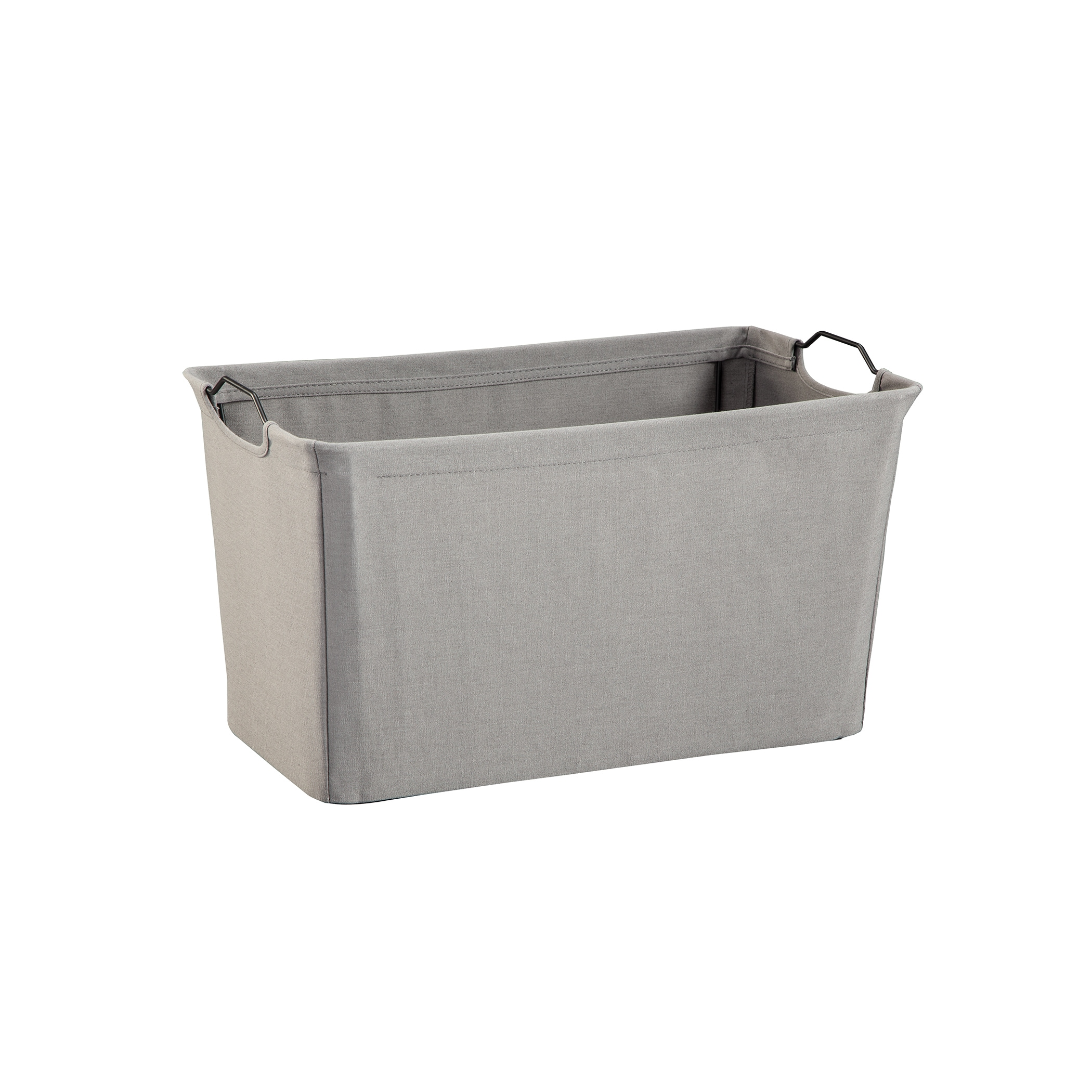 ClosetMaid Wire Frame Wide Fabric Bin   Free Shipping On Orders Over $45    Overstock   21590159