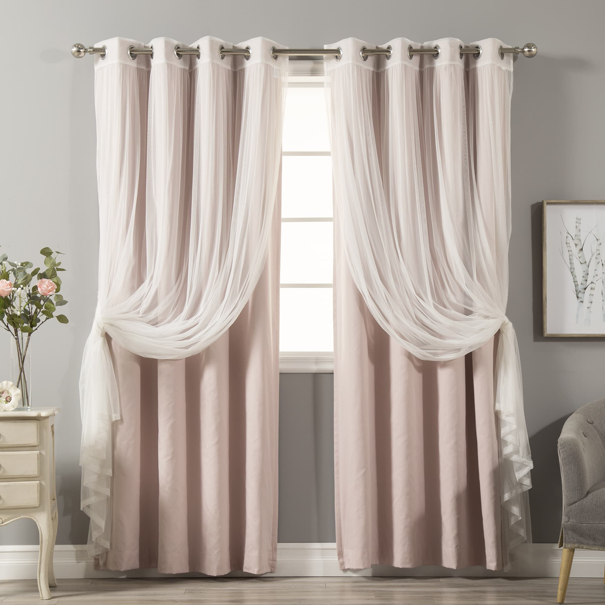 concassage natural canada white etsy grommet furniture grommets curtains cotton blackout linen with look sheer cream off appealing