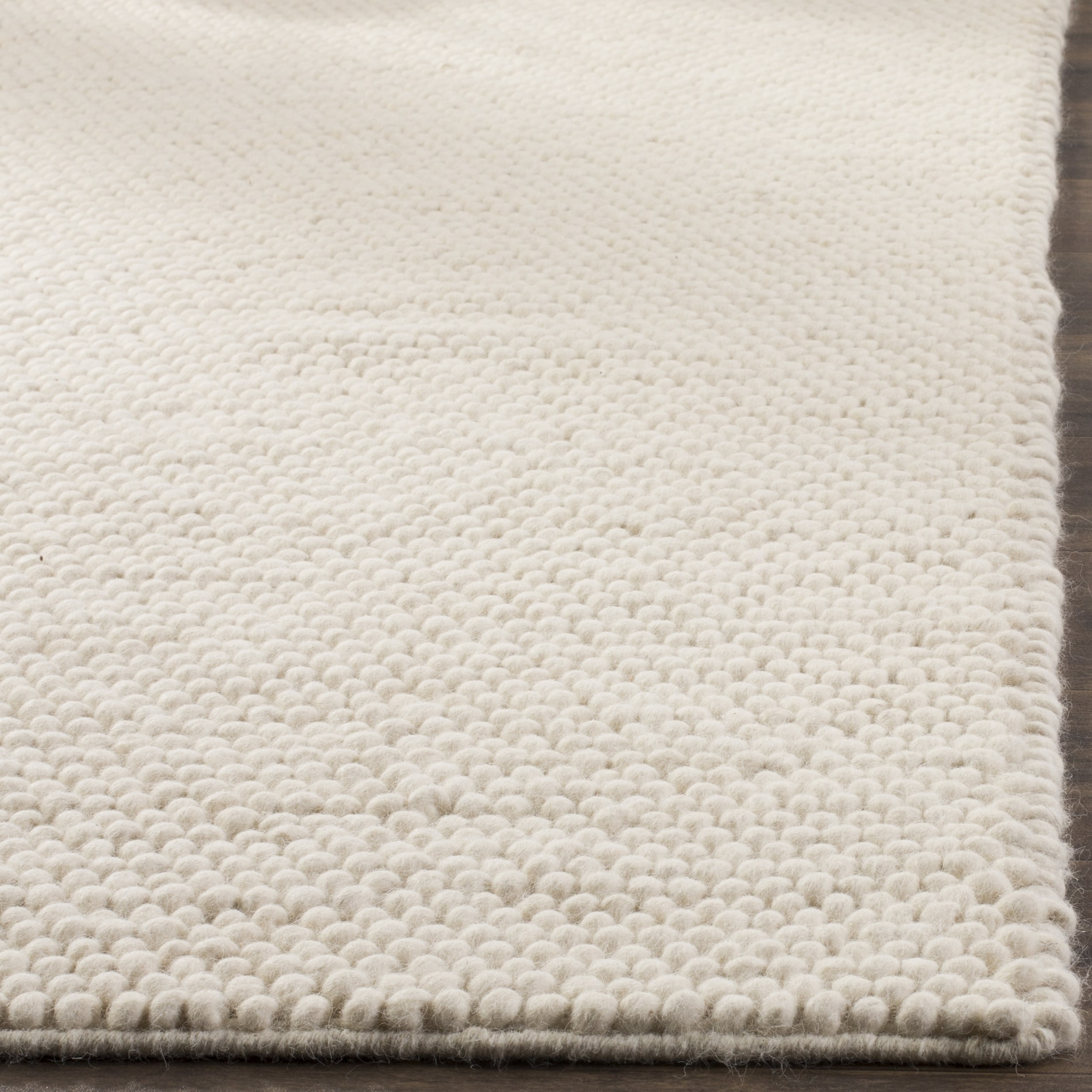 Safavieh Natura Hand Tufted Ivory Wool Area Rug 9 X 12 On Free Shipping Today Com 15193478