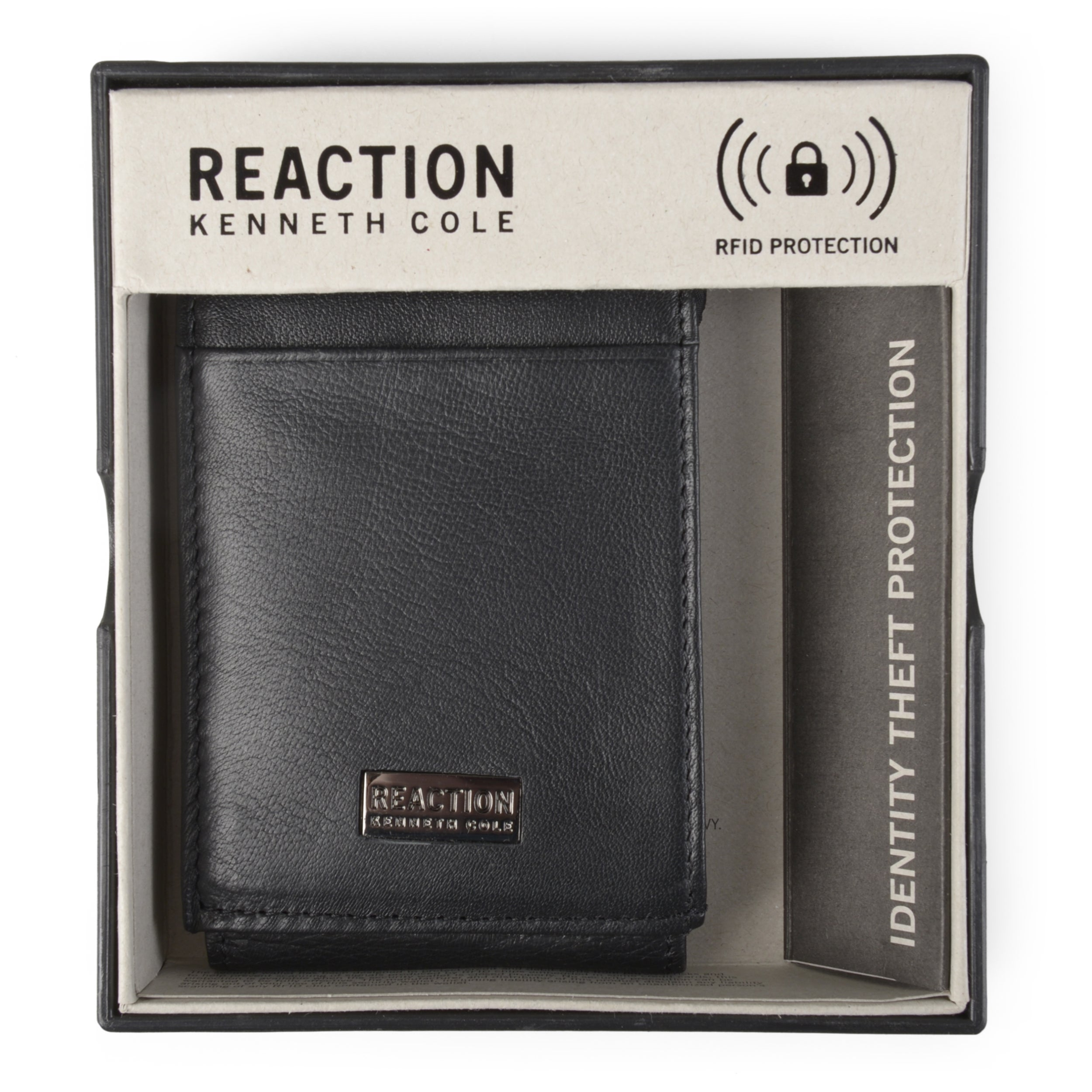 732fb99ac1fd Shop Kenneth Cole Reaction Men's Genuine Leather RFID Magnetic Wallet -  Free Shipping On Orders Over $45 - Overstock - 15199033