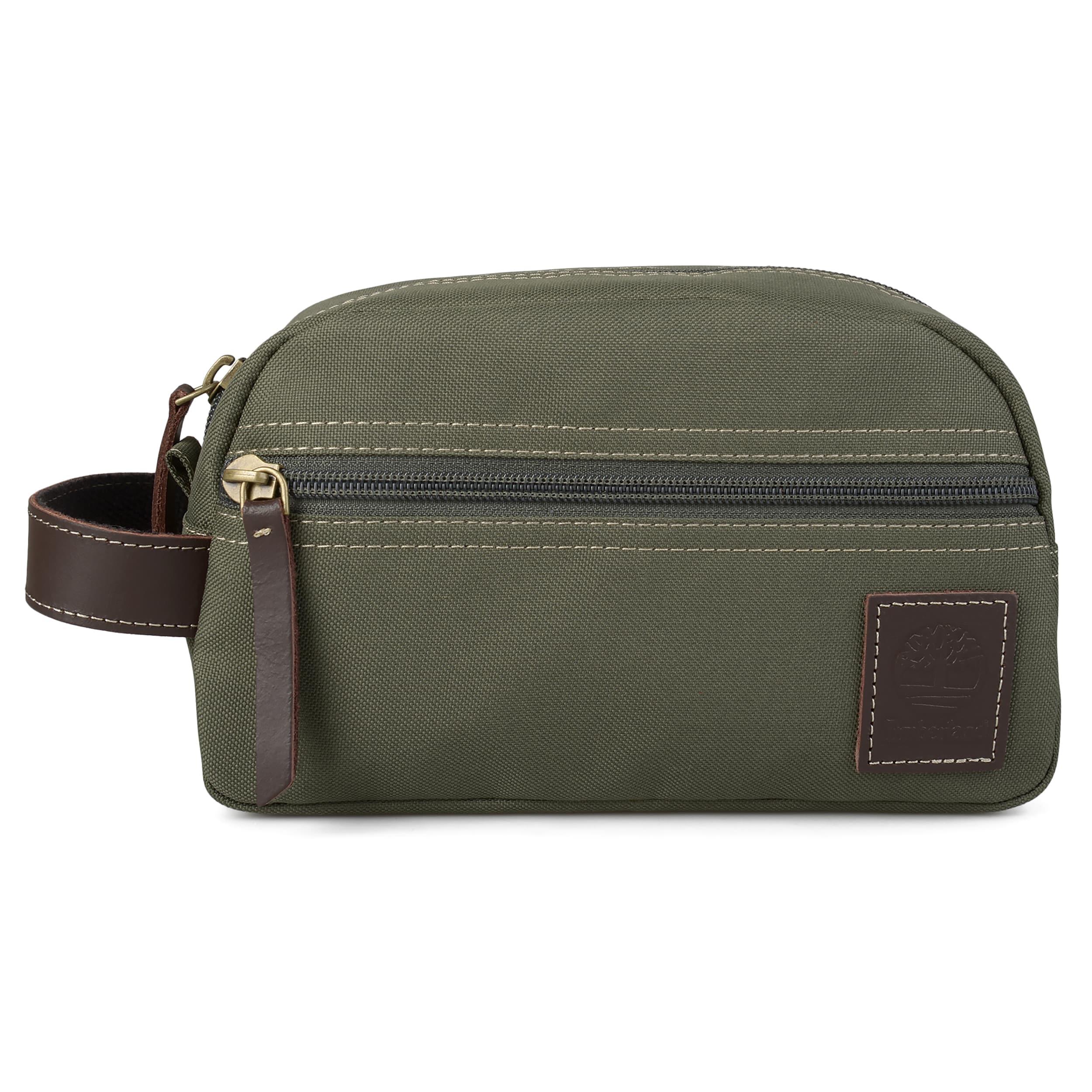 965909462bab Shop Timberland Men s Canvas Zipper Classic Travel Kit - Free ...