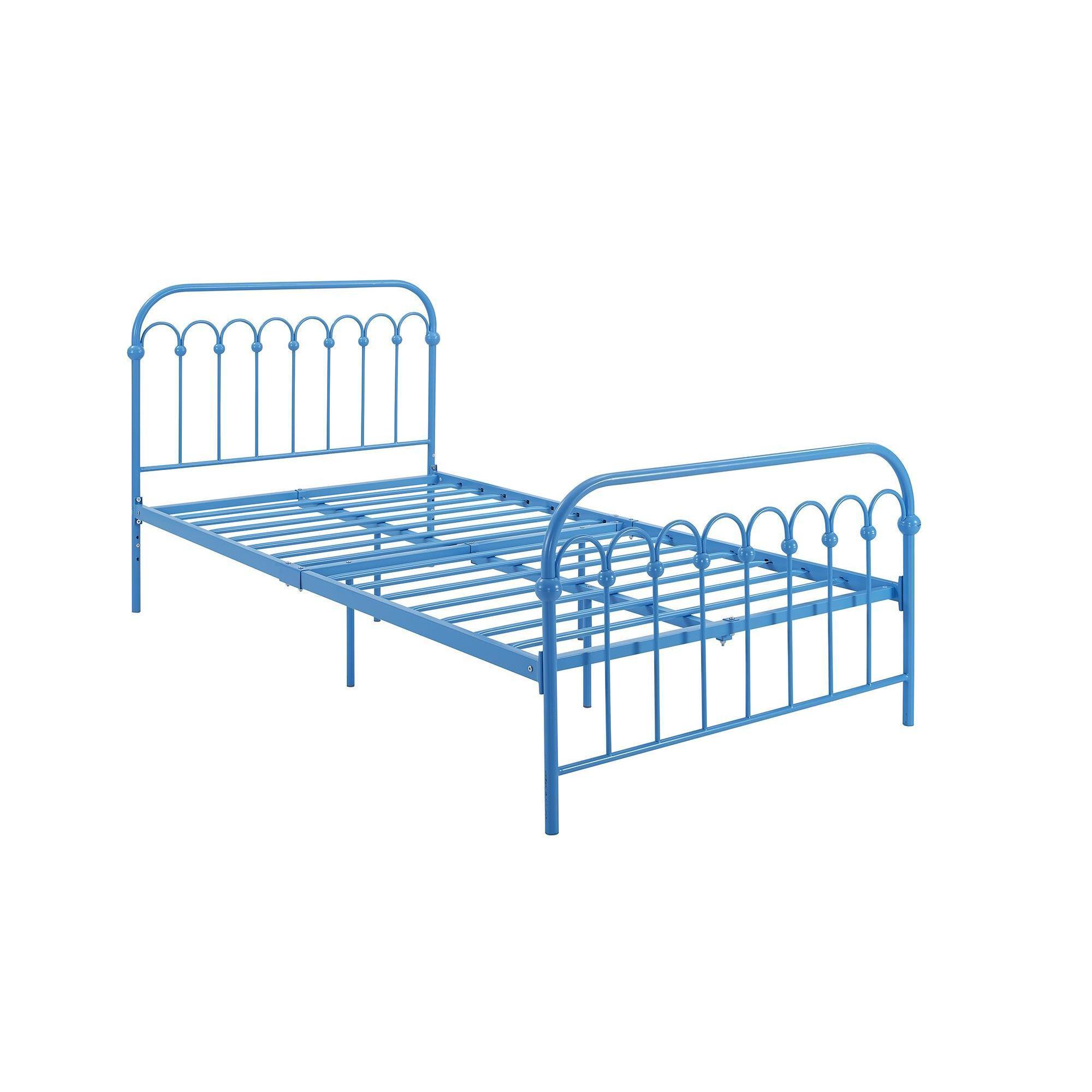 Novogratz Bright Pop Metal Twin Bed Free Shipping Today 15199802