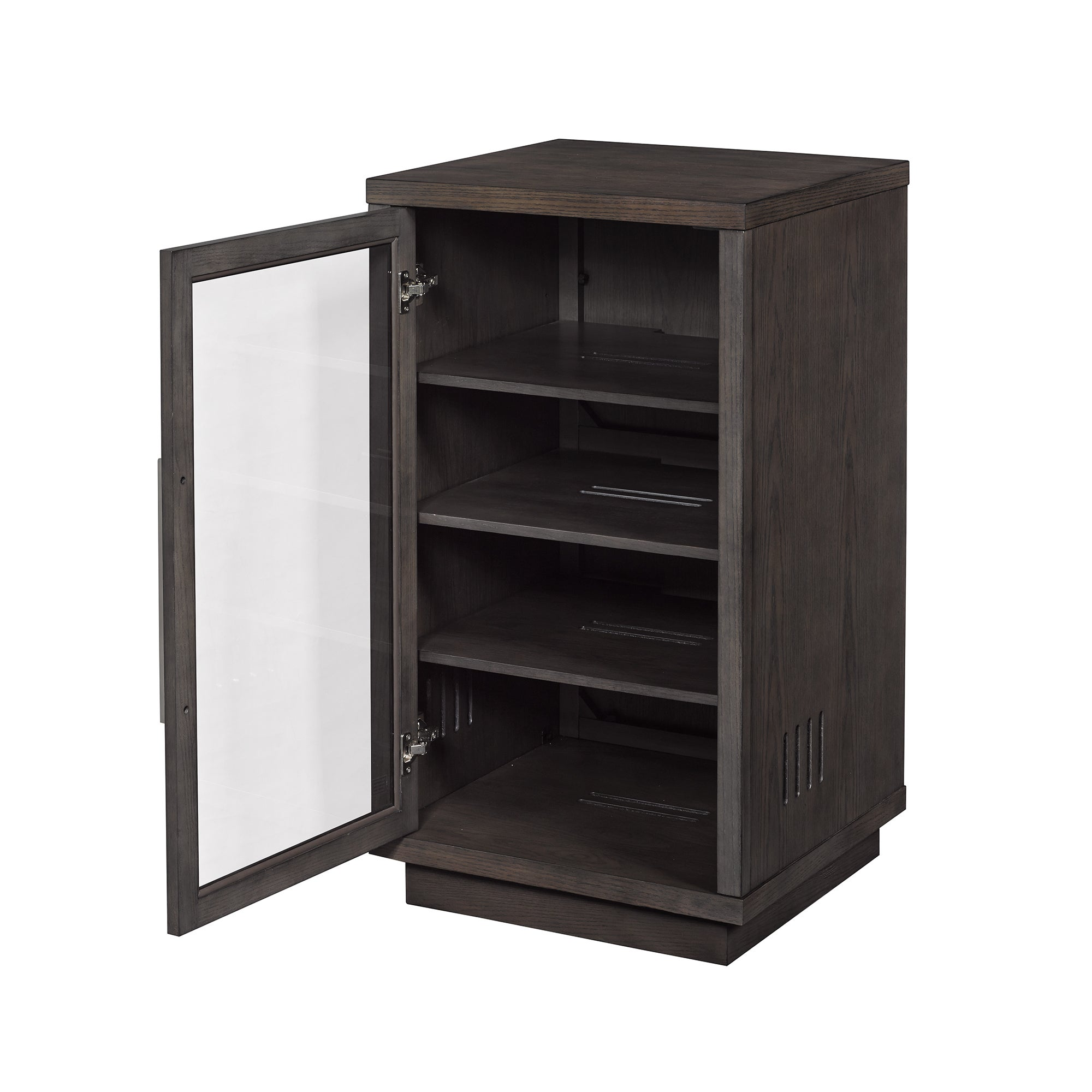 Shop Arbordale Audio Video Component Cabinet, Tifton Oak   Free Shipping  Today   Overstock.com   15210323