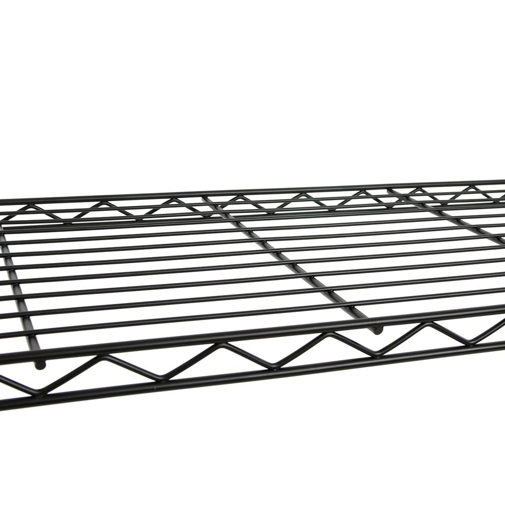 Excel NSF Multi-Purpose 3-Tier Wire Shelving Unit with Casters, 24 ...