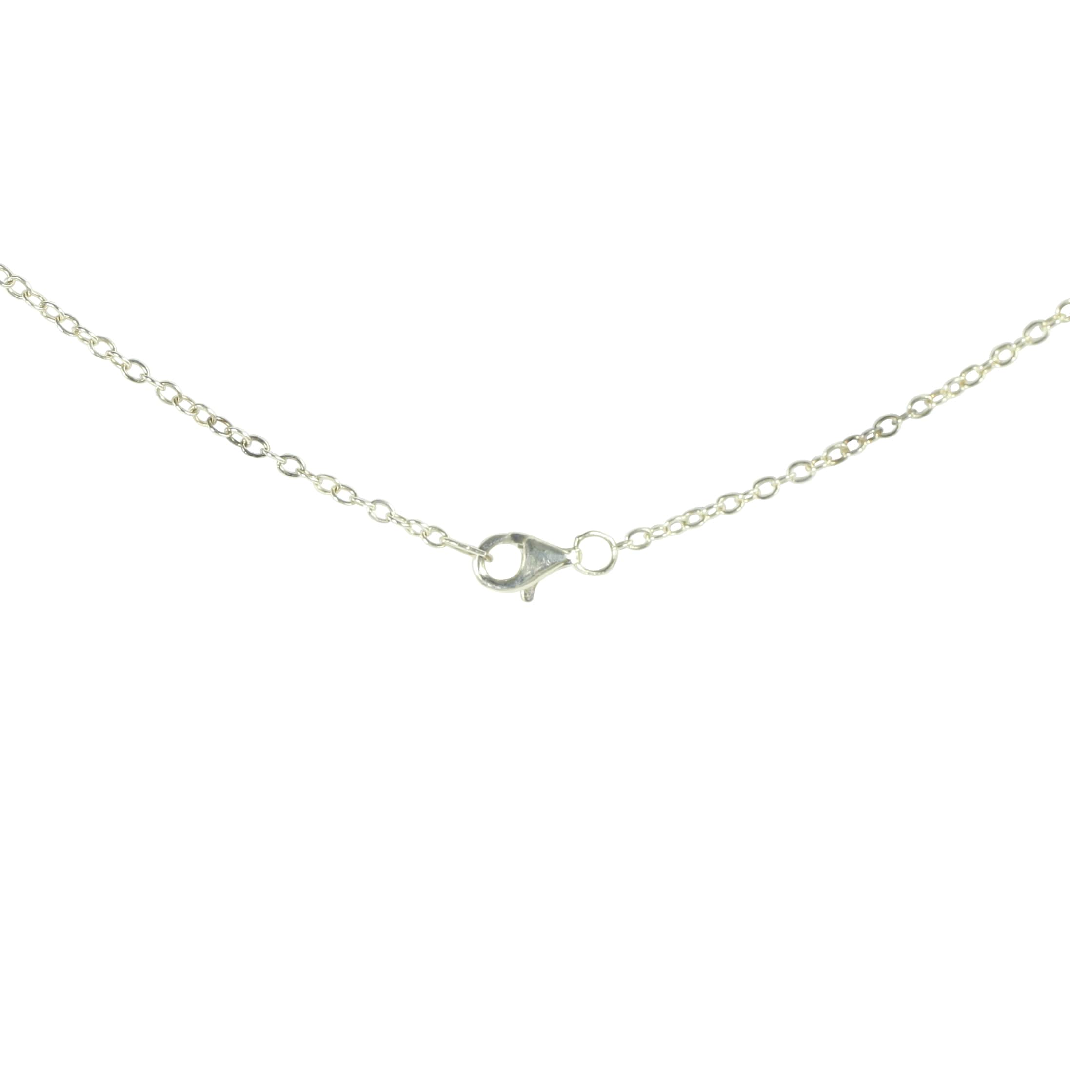 chain white pendant disc small auree initial jewellery with westbourne a gold engraved on