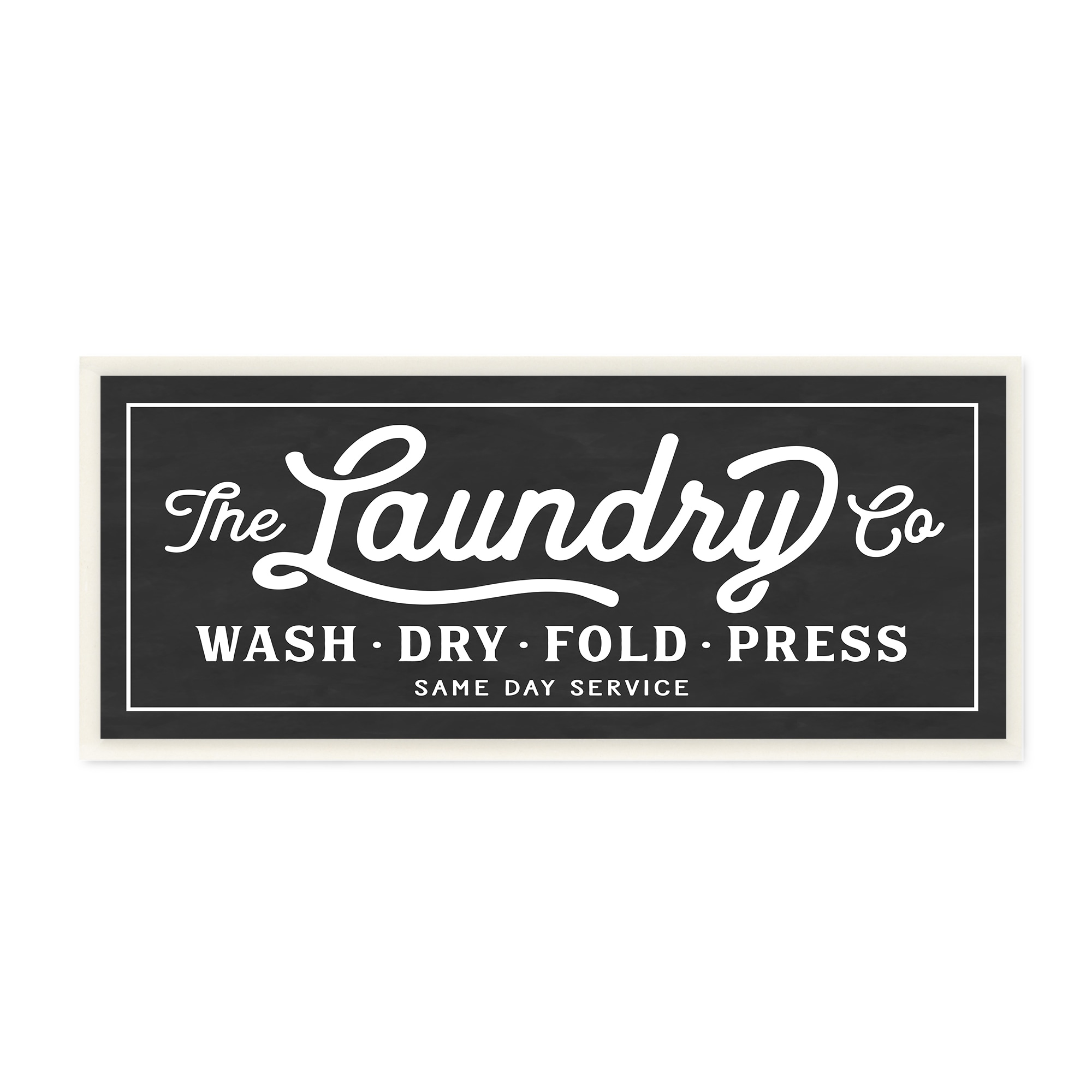 Laundry Wall Plaque Best Vintage Laundry Sign Cursive Typography Wall Plaque Art  Free Design Inspiration