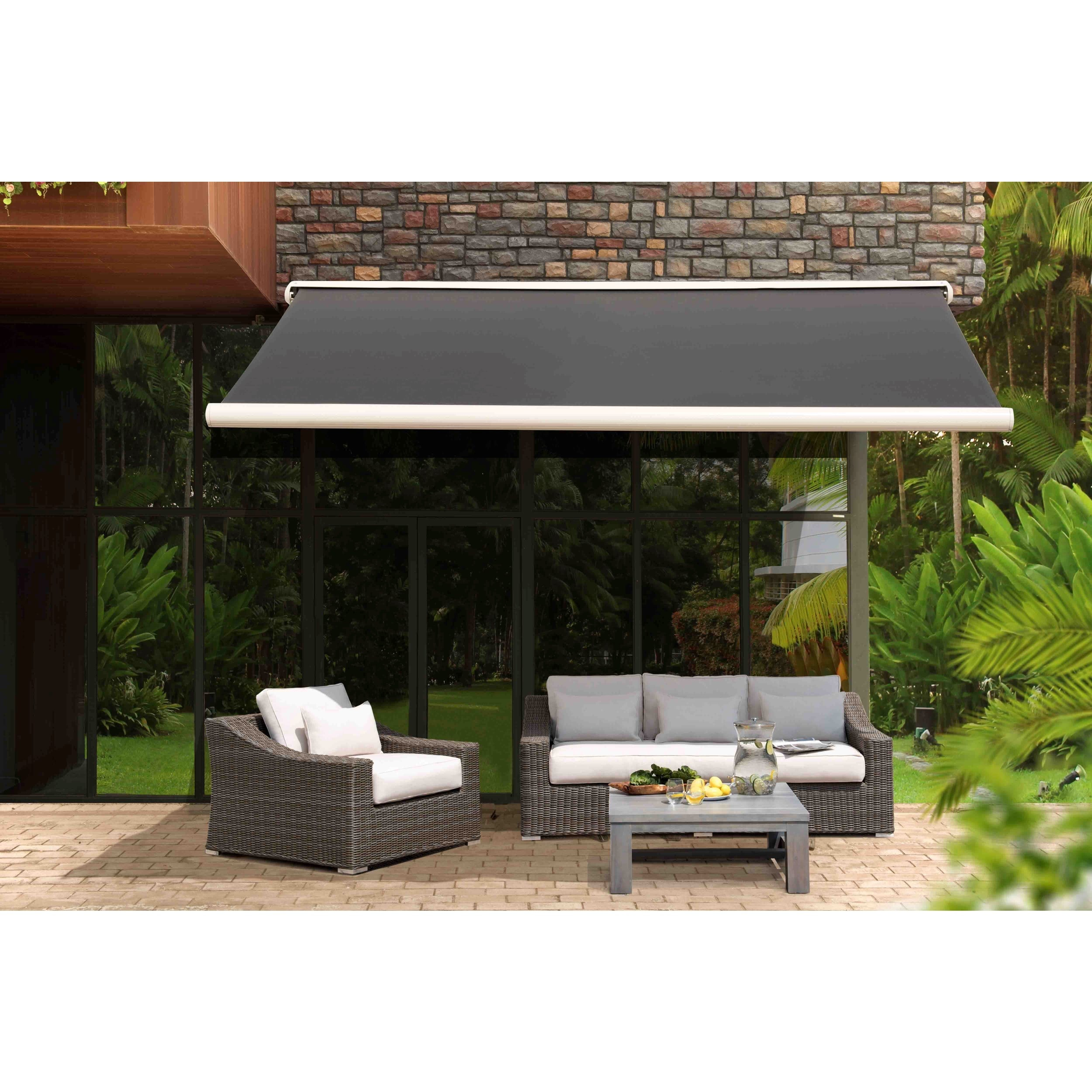 x haven hayneedle motorized retractable ft master awning product sunstopper cfm sun