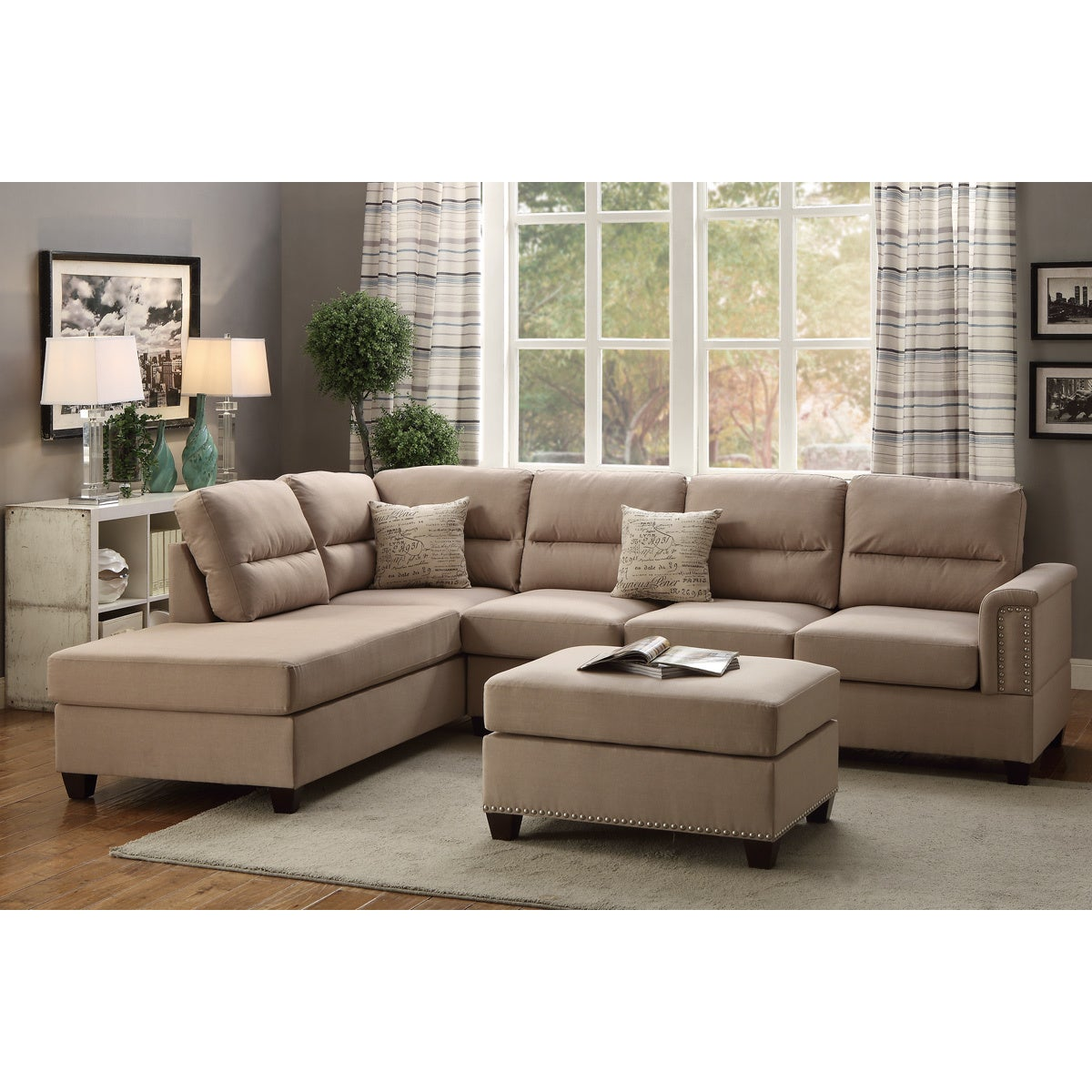 loading sectional zoom sofa showroom categories productdetails poundex furniture catalogsite bobkona