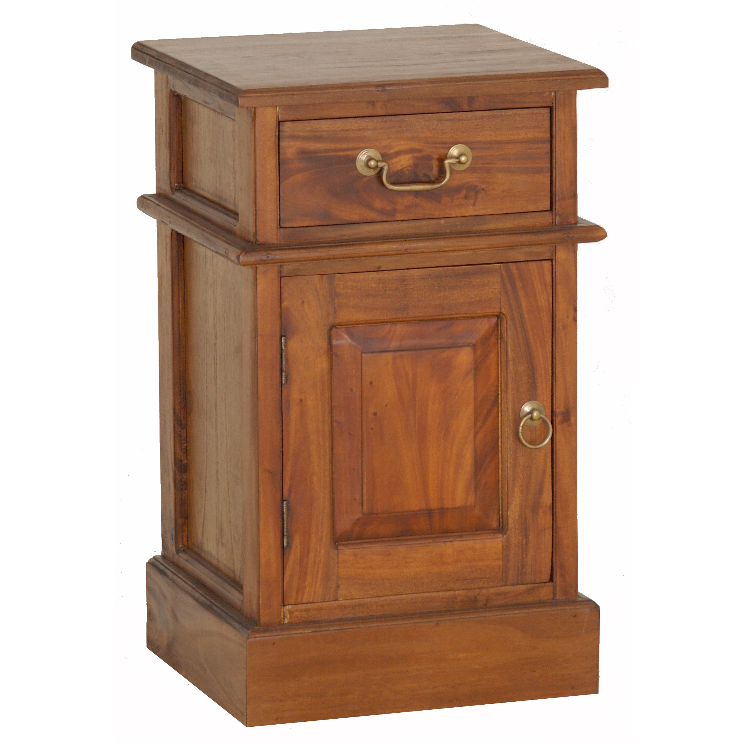 Shop handmade nes fine furniture solid mahogany wood charlotte shop handmade nes fine furniture solid mahogany wood charlotte nightstand bedside table 26 inches indonesia free shipping today overstock watchthetrailerfo