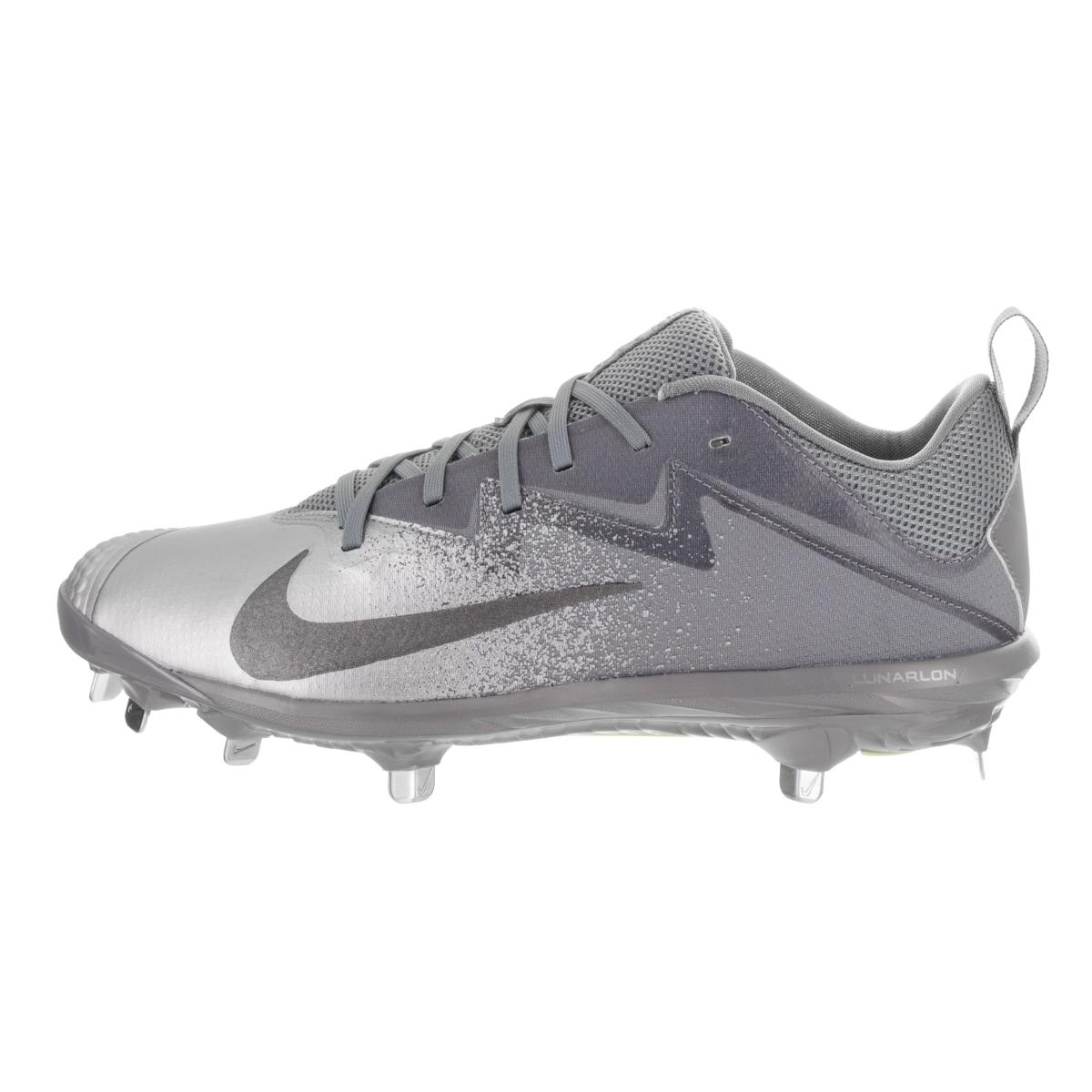 f5ba7100a0cb Shop Nike Men's Lunar Vapor Ultrafly Pro Grey Textile Baseball Cleats -  Ships To Canada - Overstock - 15269258