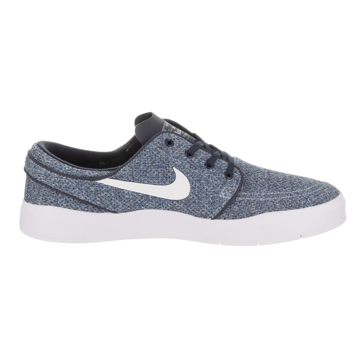 b200984deb3732 Shop Nike Men s SB Janoski Hyperfeel Mesh Blue Textile Skate Shoes - Free  Shipping Today - Overstock.com - 15269347