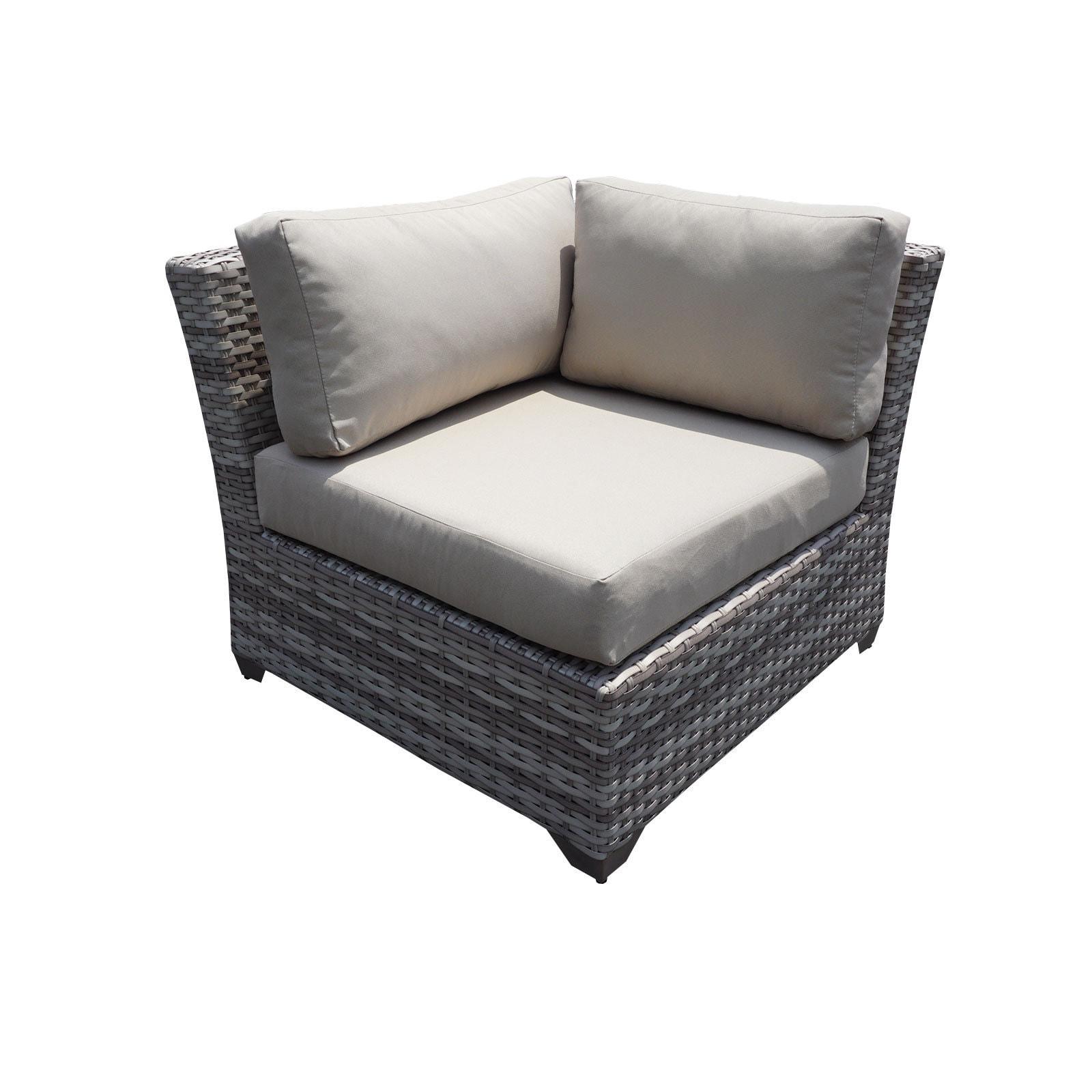 Fairmont 9 Piece Outdoor Wicker Patio Furniture Set 09c Free