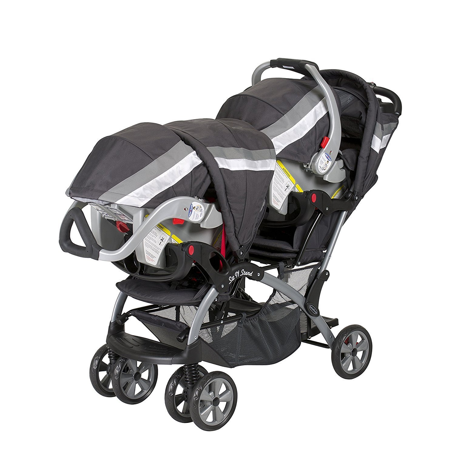 Shop Baby Trend Sit N Stand Double Stroller Liberty Free Shipping
