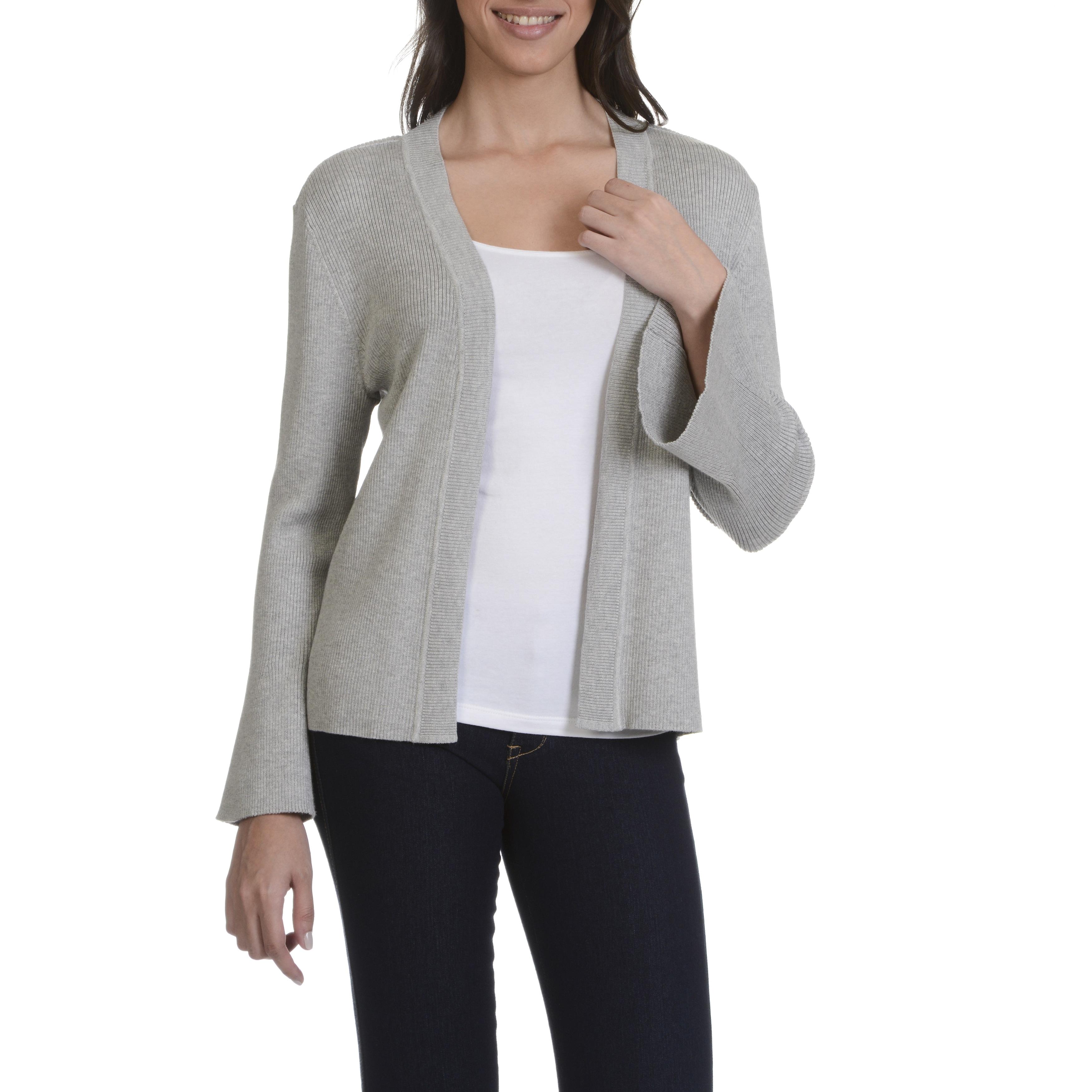 Shop 89th Madison Womens Bell Sleeve Flyaway Cardigan Free