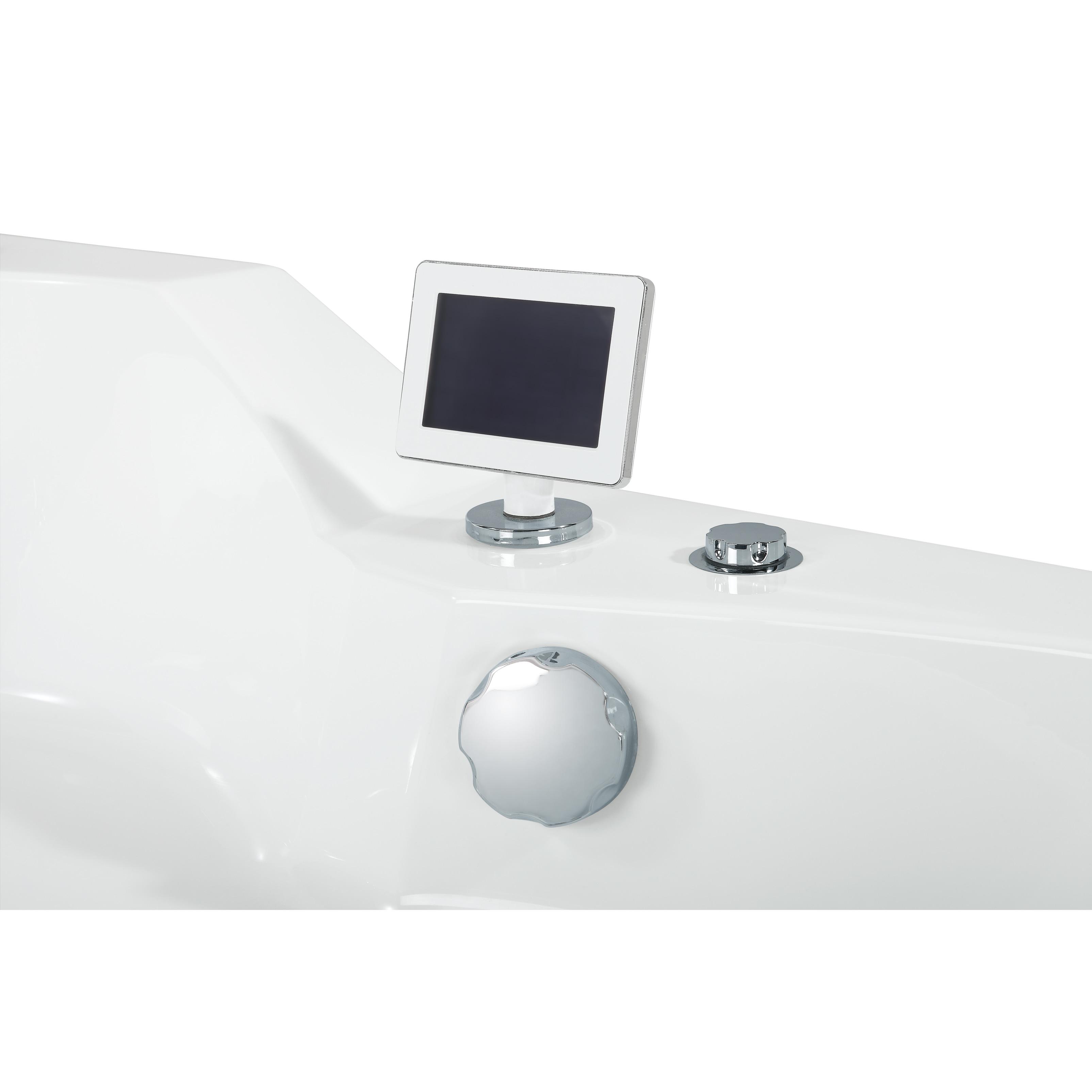 Shop Ariel ARL-084 Two Person Whirlpool Bathtub - Free Shipping ...