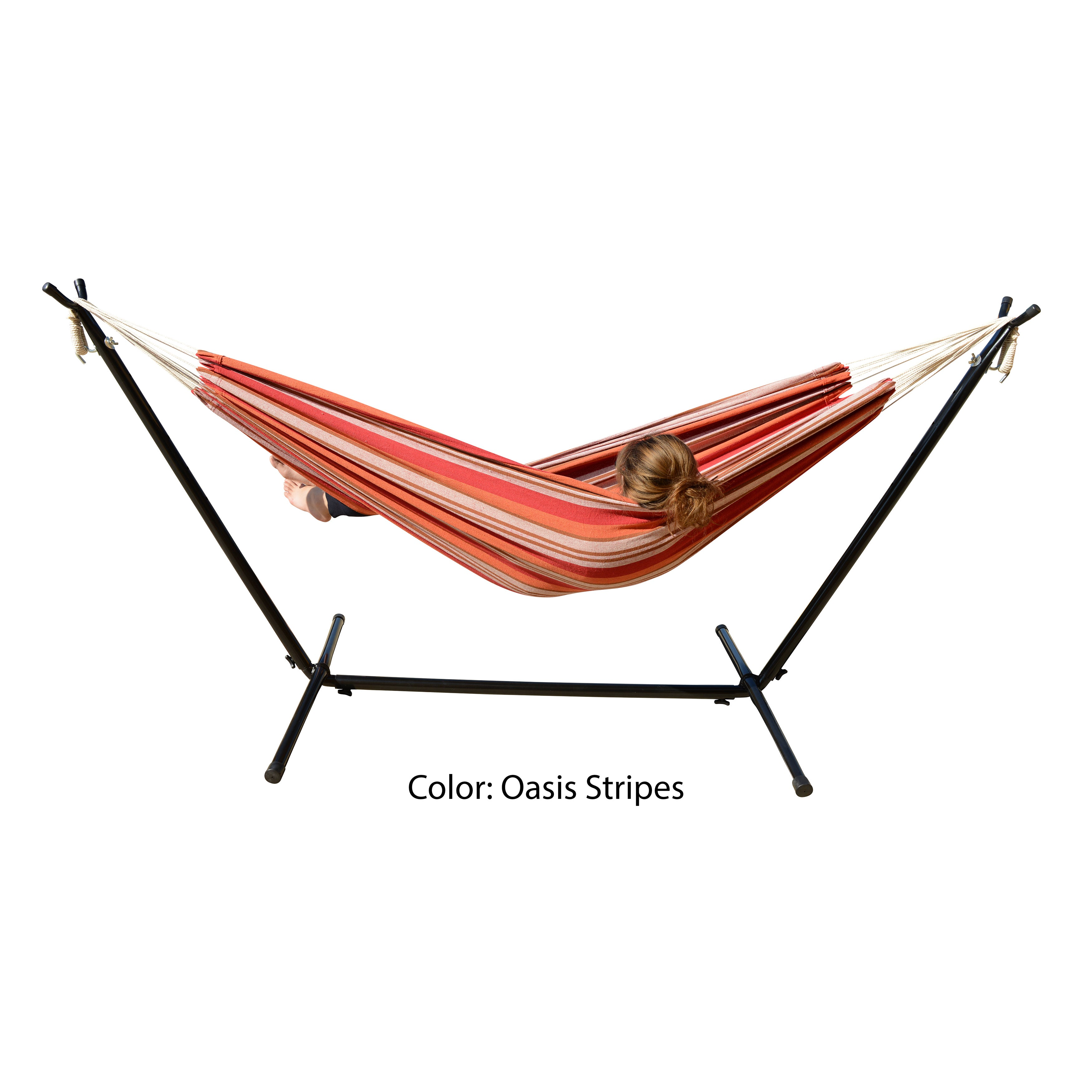 Shop Mano Patio Easy Set Up Hammock With Stand   Free Shipping Today    Overstock.com   15283303