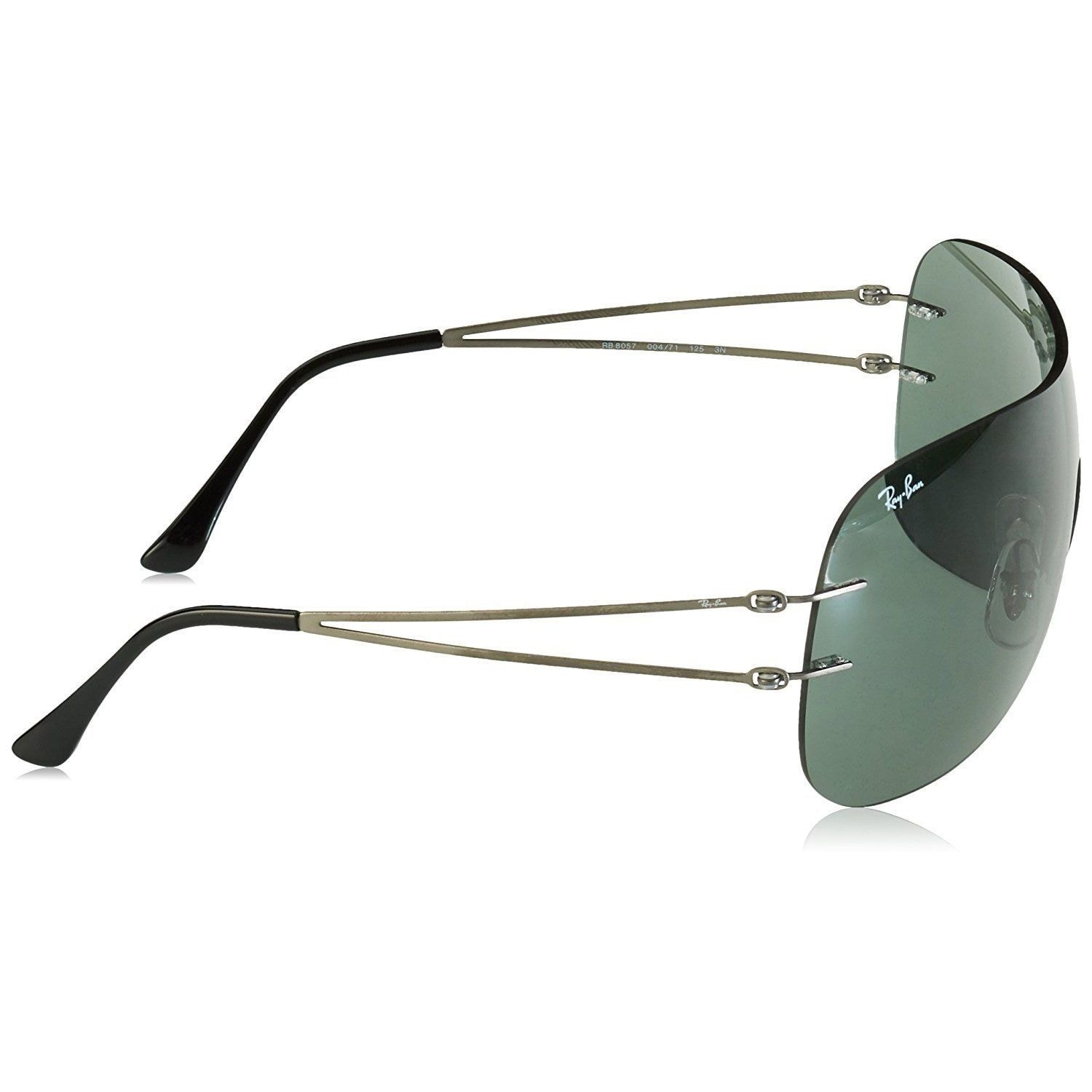 a2ab4ca41d2 Shop Ray-Ban RB8057 Unisex Rimless Green Classic Single Lens Sunglasses -  Free Shipping Today - Overstock - 15287214