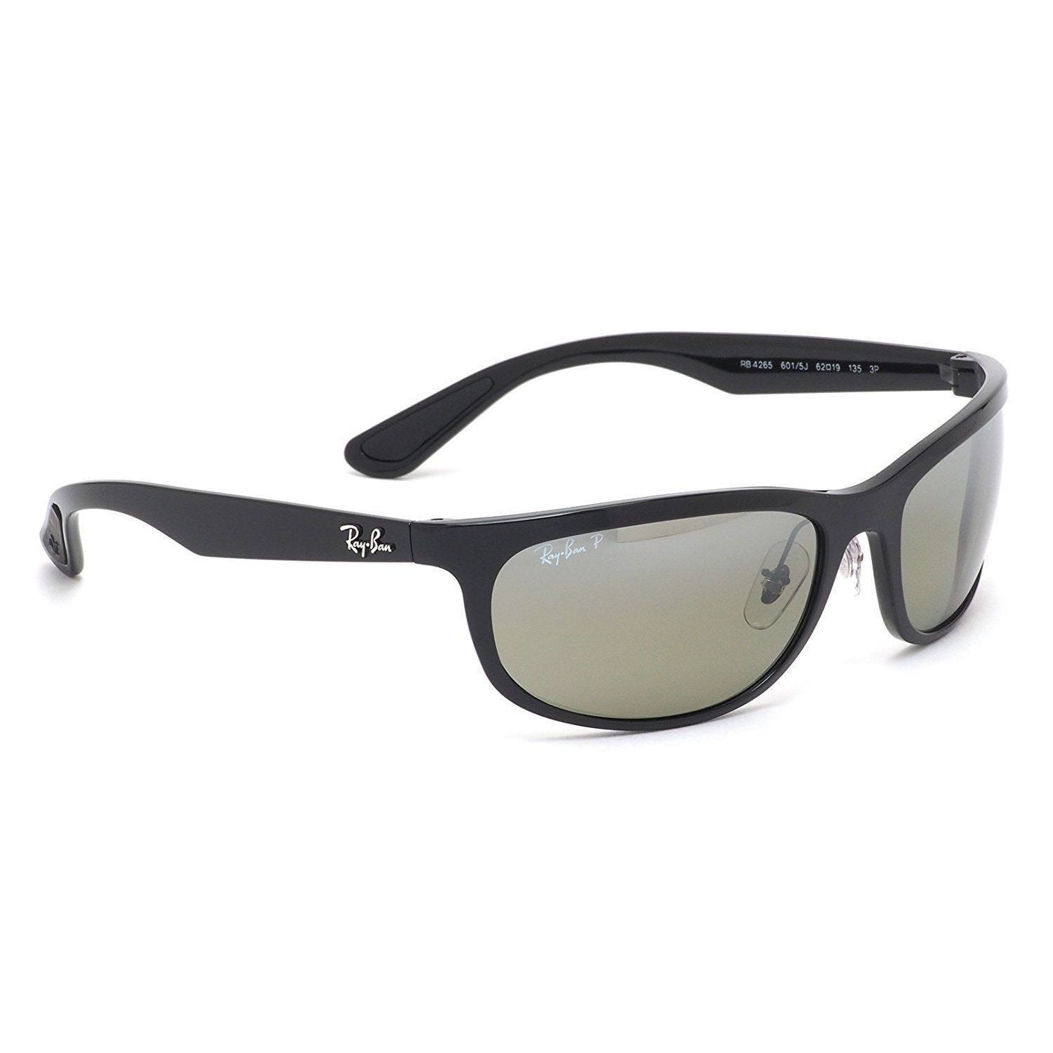 c7b6b91a47 Shop Ray-Ban RB4265 601 5J Men s Black Frame Polarized Silver Mirror  Chromance Lens Sunglasses - Free Shipping Today - Overstock - 15287362