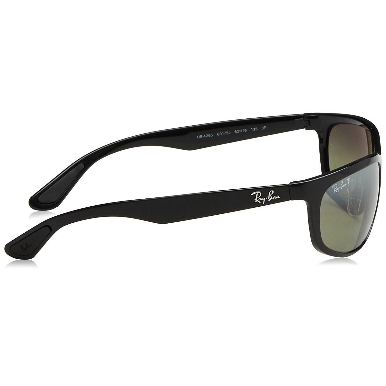 7577e03003 Shop Ray-Ban RB4265 601 5J Men s Black Frame Polarized Silver Mirror  Chromance Lens Sunglasses - Ships To Canada - Overstock - 15287362