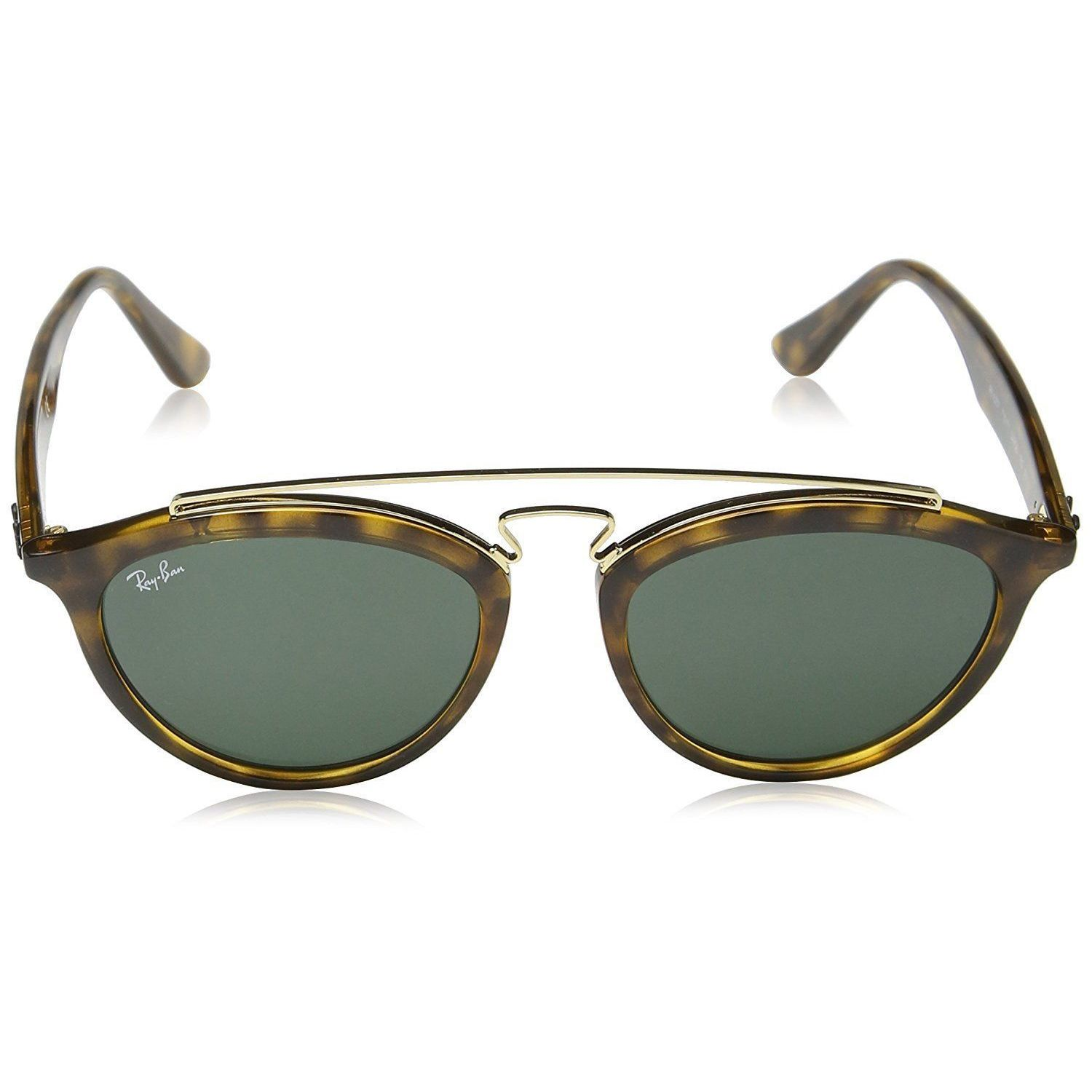 1eeaa7025a0 Shop Ray-Ban Gatsby II RB4257 710 71 Women s Tortoise Frame Green Classic Lens  Sunglasses - Free Shipping Today - Overstock - 15287404