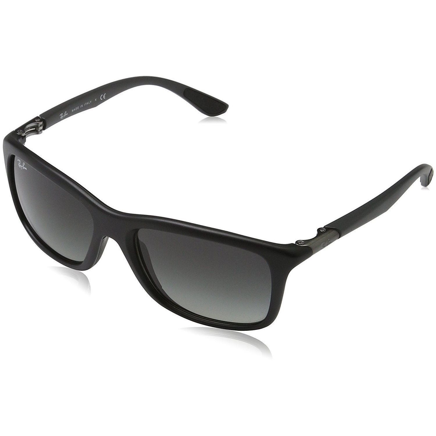 77c575f66a0ba Shop Ray-Ban RB8352 622011 Men s Black Grey Frame Grey Gradient Lens  Sunglasses - Free Shipping Today - Overstock - 15287588