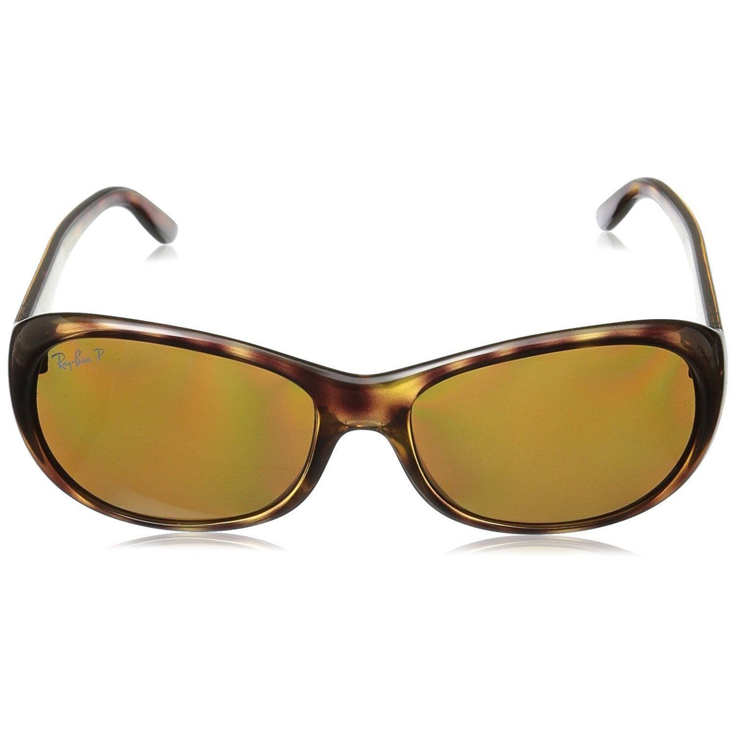 b1ee0f1544 Shop Ray-Ban RB4061 642 57 Women s Tortoise Frame Polarized Brown 55mm Lens  Sunglasses - Free Shipping Today - Overstock - 15287693