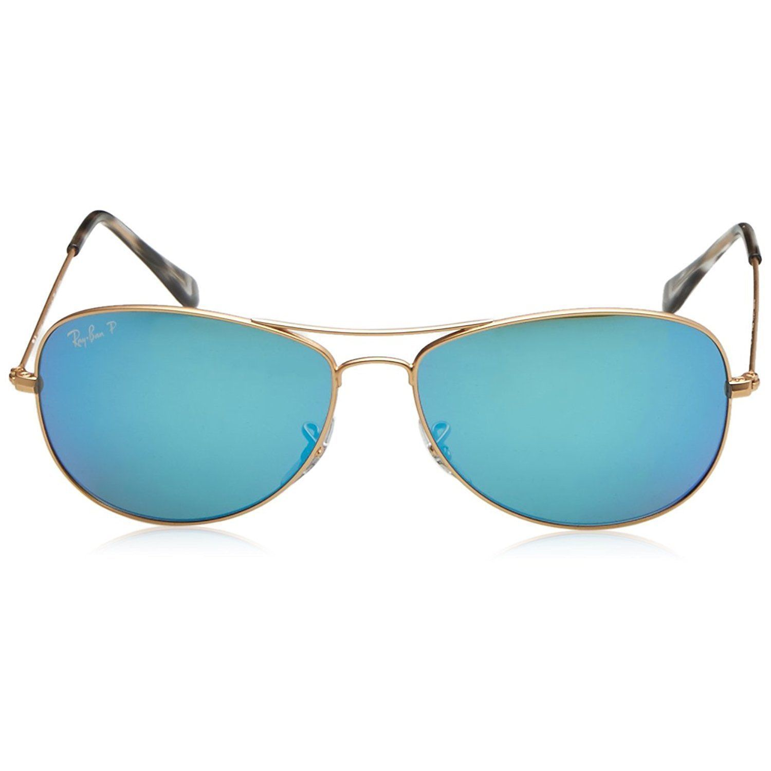 fd33670350 Shop Ray-Ban Chromance RB3562 112 A1 Men s Gold Frame Polarized Blue Mirror  59mm Lens Sunglasses - Free Shipping Today - Overstock - 15287709
