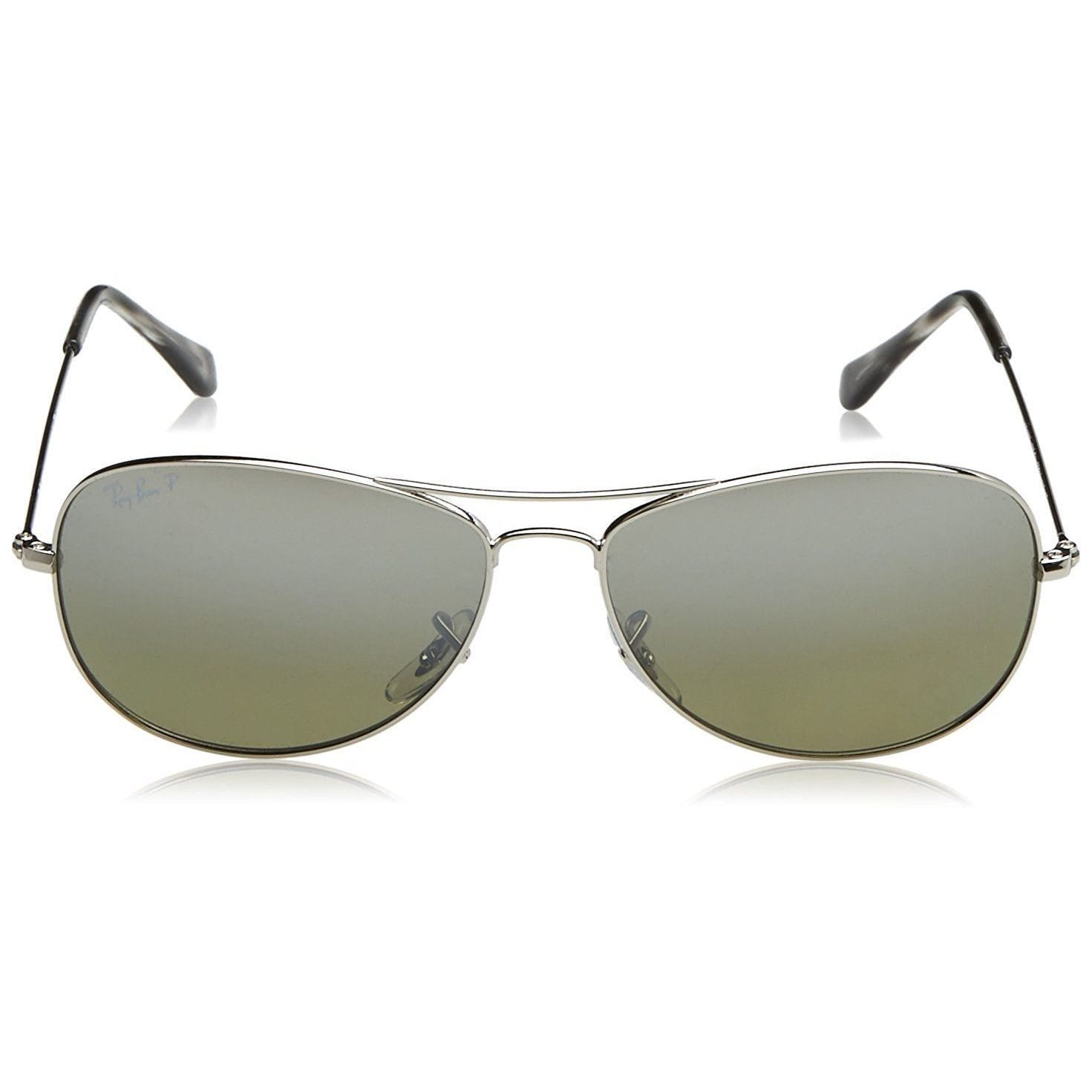 e0ae84d0cd Shop Ray-Ban Chromance RB3562 003 5J Men s Silver Frame Polarized Silver  Mirror 59mm Lens Sunglasses - Free Shipping Today - Overstock - 15287786