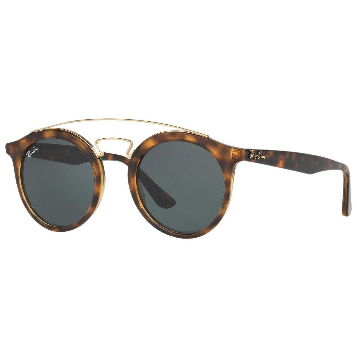9e0cadbba76 Ray-Ban Gatsby I RB4256 710 71 Unisex Tortoise Frame Green Classic Lens  Sunglasses