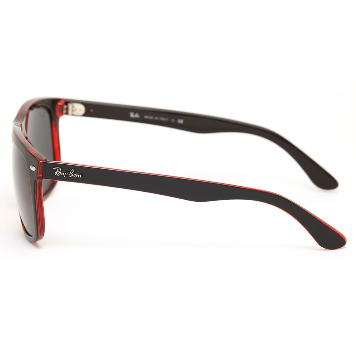 2bc47543595 ... spain shop ray ban rb4147 617187 mens black red frame grey classic 60mm  lens sunglasses free