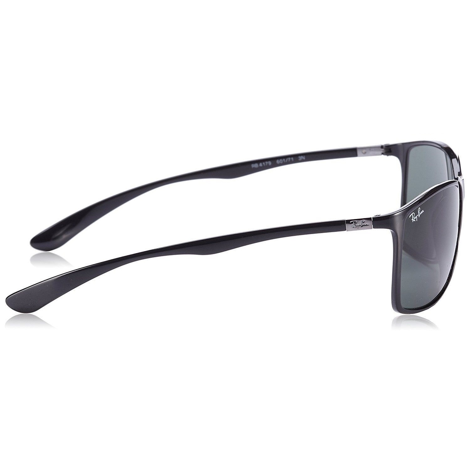 ad4a577cb0 Shop Ray-Ban RB4179 601 71 Men s Black Frame Green Classic 62mm Lens  Sunglasses - Free Shipping Today - Overstock - 15288087