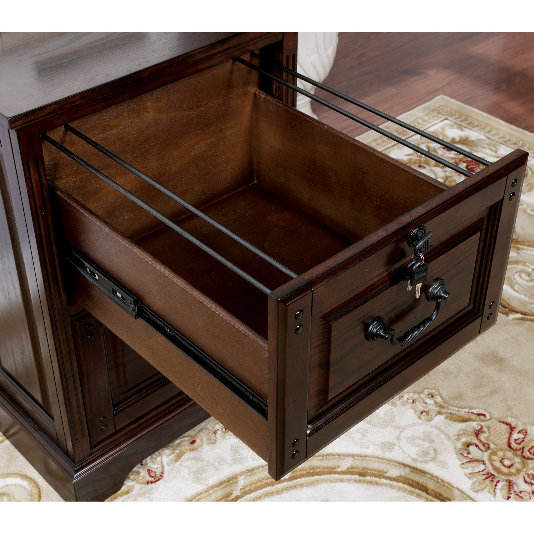Furniture Of America Devon Traditional 2 Drawer Dark Walnut File Cabinet Free Shipping Today Com 15289767
