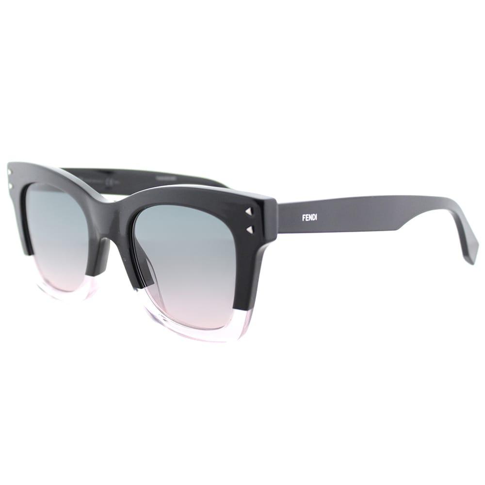 Fendi Damen Sonnenbrille FF 0237/S JP 3H2, Schwarz (Black Pink/Green Pink), 49