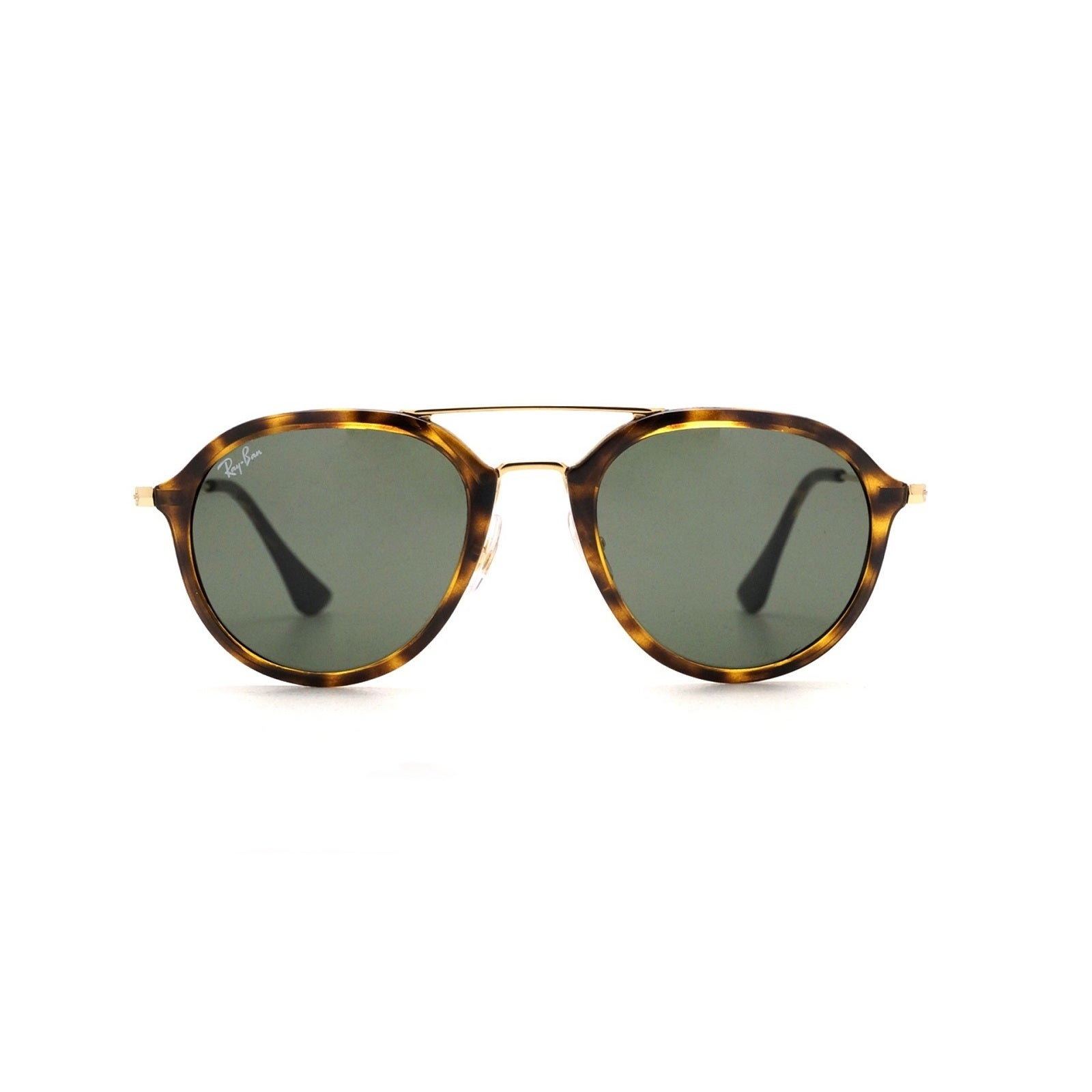 ad1a1279da6 Shop Ray-Ban RB4253 710 Unisex Tortoise Gold Frame Green Classic 53mm Lens  Sunglasses - Free Shipping Today - Overstock.com - 15297153