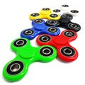 Fidget Spinner High Speed Tri-Spinner Stress Reducer Toy