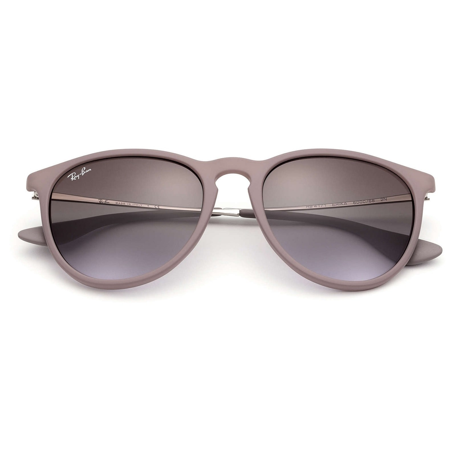 d38d97a50d9 Shop Ray-Ban Erika RB4171 Women s Brown Silver Frame Brown Violet Gradient  54mm Lens Sunglasses - Free Shipping Today - Overstock - 15299145