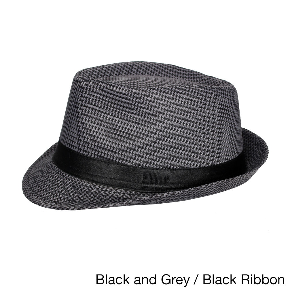 Shop E.M.P. Unisex Cuban-style Fedora Short Brim Hat - On Sale - Free  Shipping On Orders Over  45 - Overstock - 15299184 93b74d084905