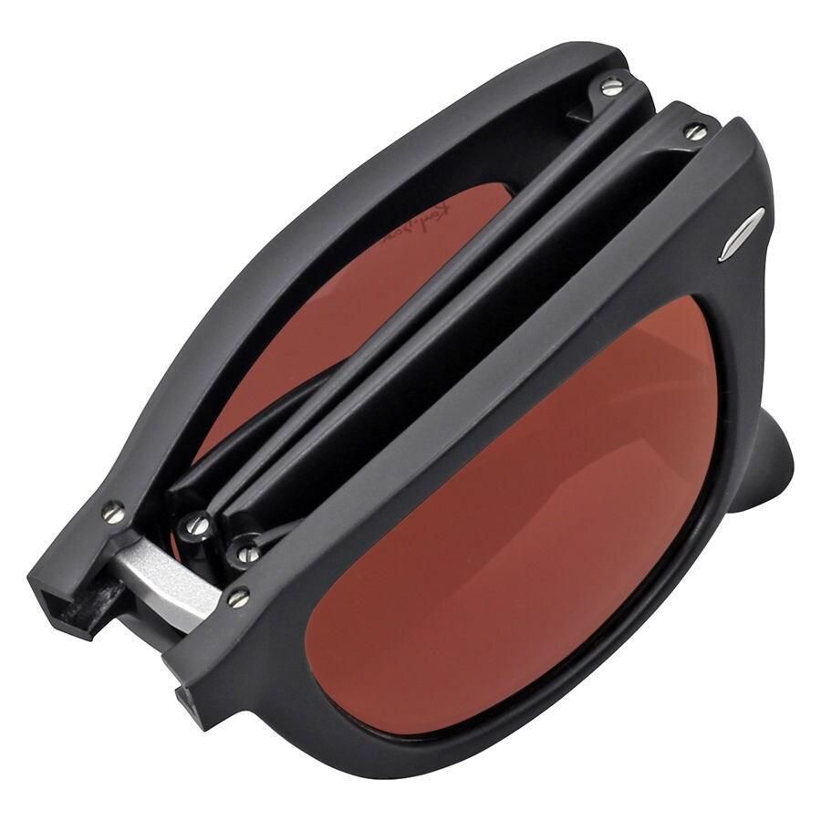 d85ed4005d8 ... canada shop ray ban wayfarer folding rb4105 unisex black frame black red  mirror lens sunglasses free