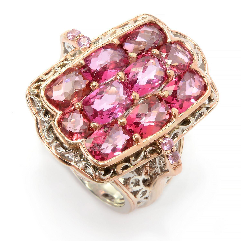 Shop Michael Valitutti Palladium Silver Pink Topaz & Pink Sapphire ...