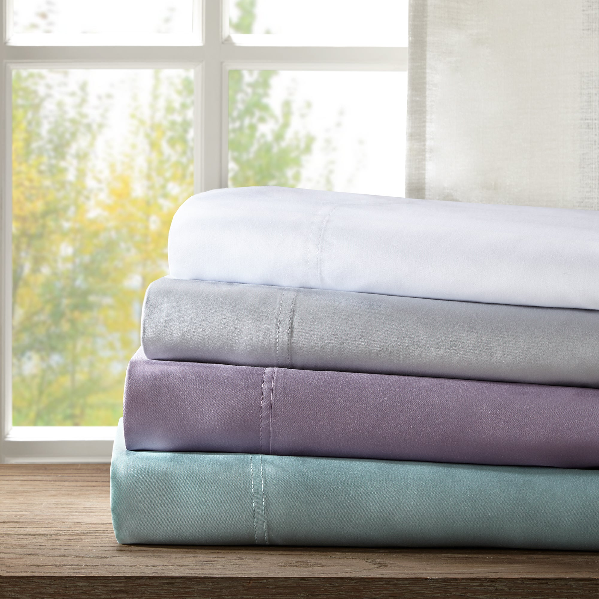 Sleep Philosophy Rayon From Bamboo Sheet Set 4 Color Option - Free Shipping  Today - Overstock.com - 21779743