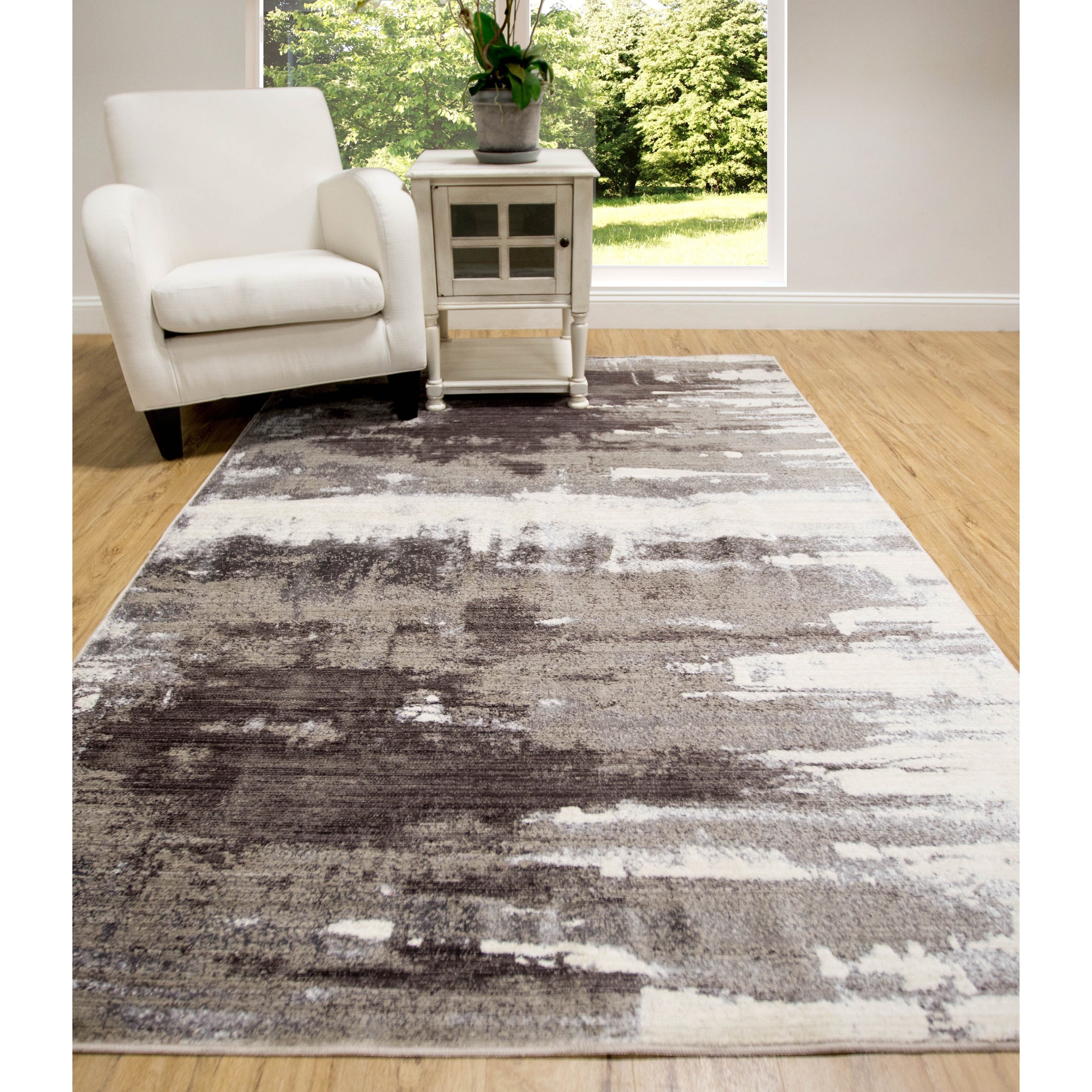 Shop Home Dynamix Luminescence Collection Floor Decor Rug Free