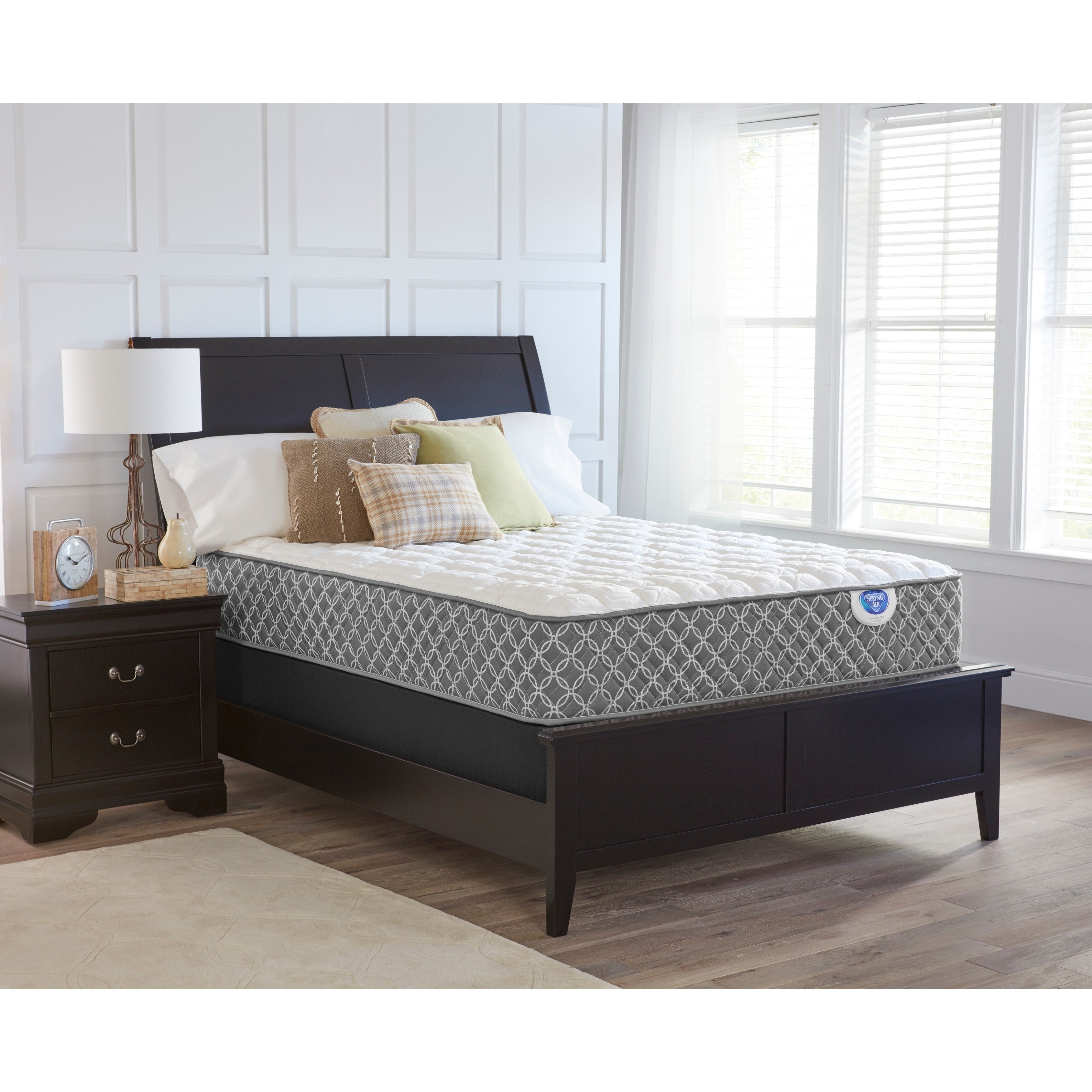 Shop Spring Air Bailey Firm Full size Mattress Set   Free Shipping