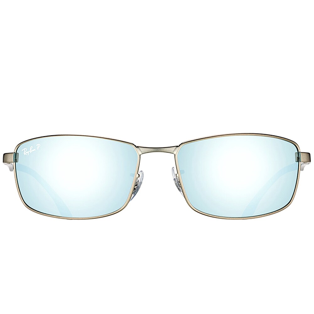 3dad2de29a Shop Ray-Ban RB 3498 029 Y4 Matte Gunmetal Metal Sport Sunglasses Gunmetal  Silver Flash Lens - Free Shipping Today - Overstock - 15336450