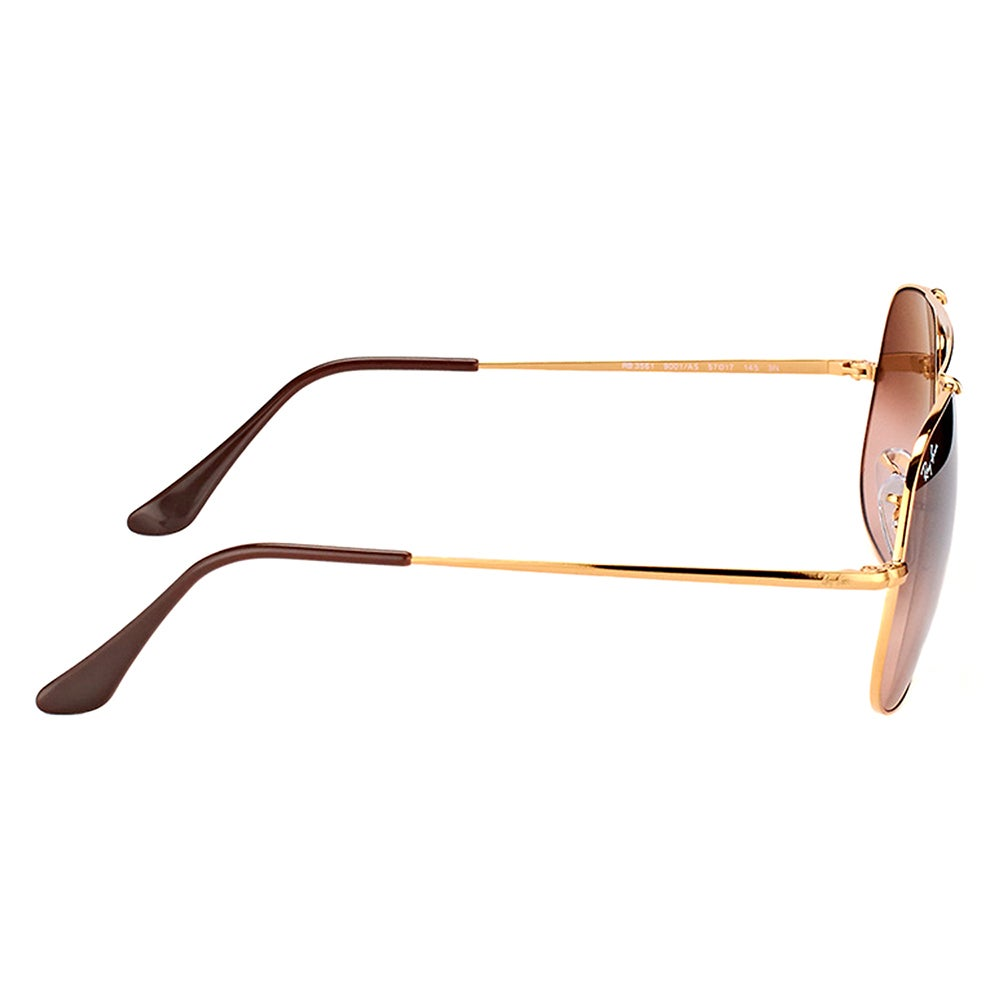 13b803dc1a Shop Ray-Ban RB 3561 9001A5 General Light Bronze Metal Aviator Sunglasses  Pink Gradient Brown Lens - Free Shipping Today - Overstock - 15336457