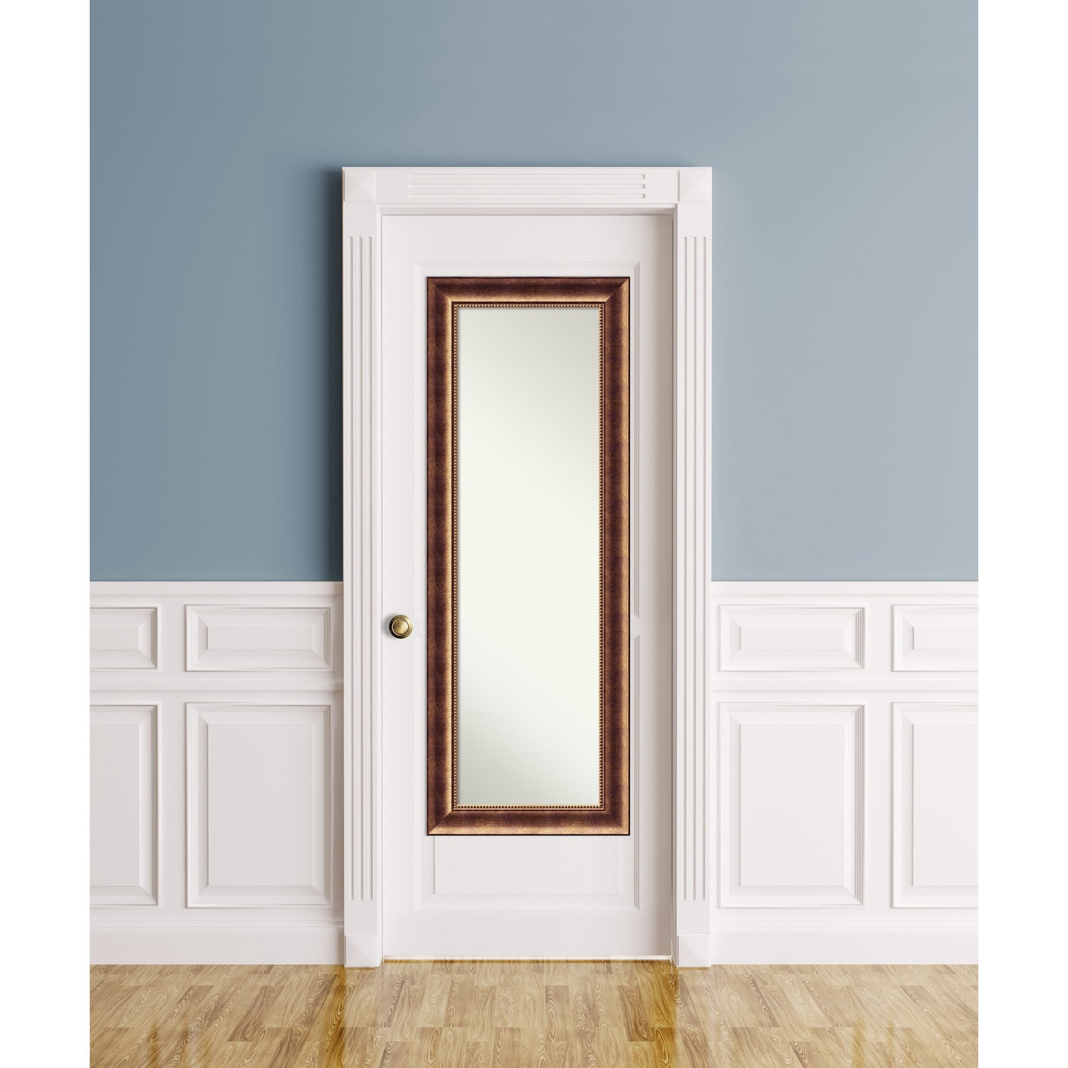 On The Door Full Length Wall Mirror Manhattan Bronze 20 x 54-inch - Free Shipping Today - Overstock - 21802877  sc 1 st  Overstock.com & On The Door Full Length Wall Mirror Manhattan Bronze 20 x 54-inch ...